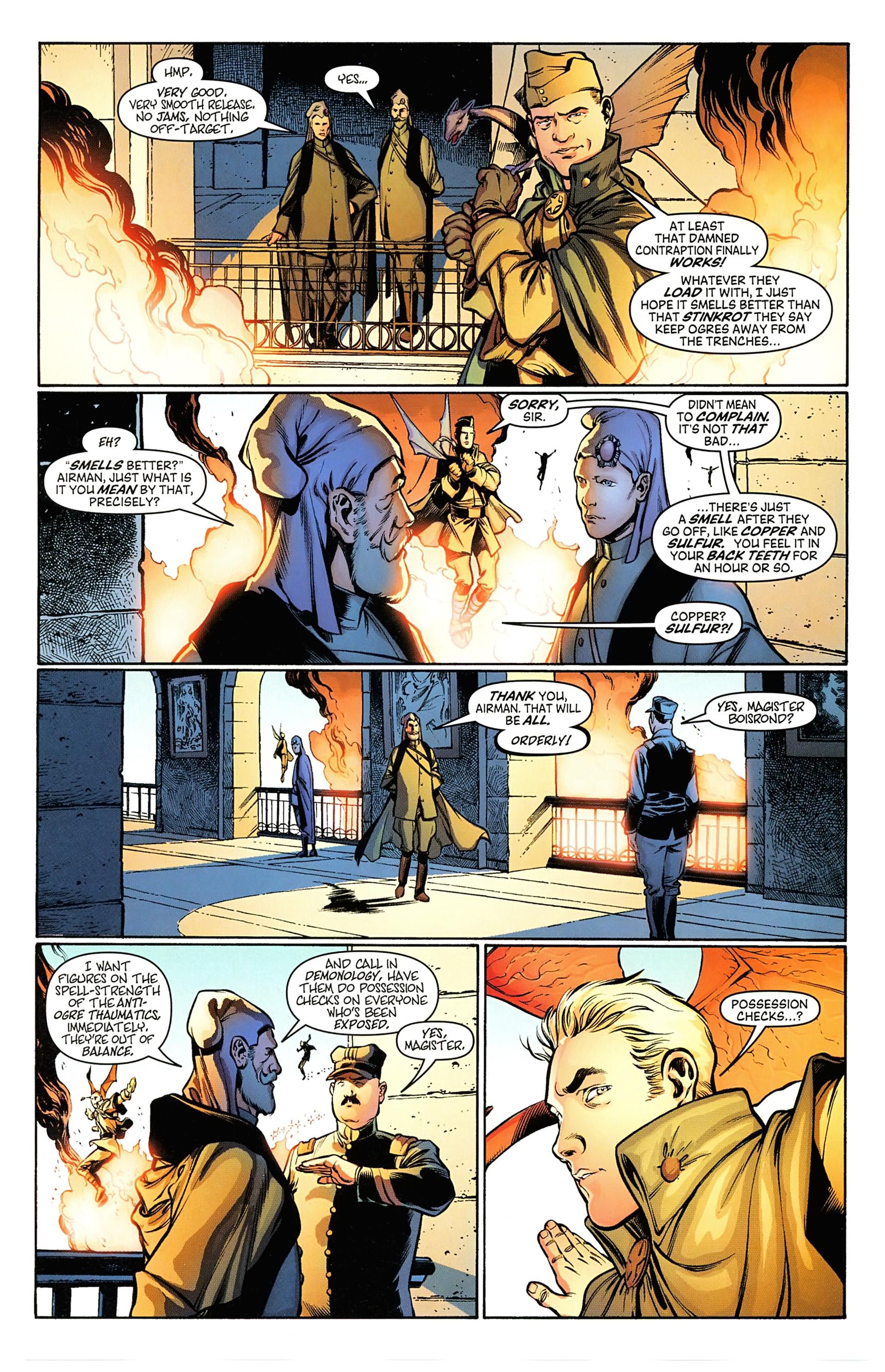 Read online Arrowsmith comic -  Issue #5 - 7