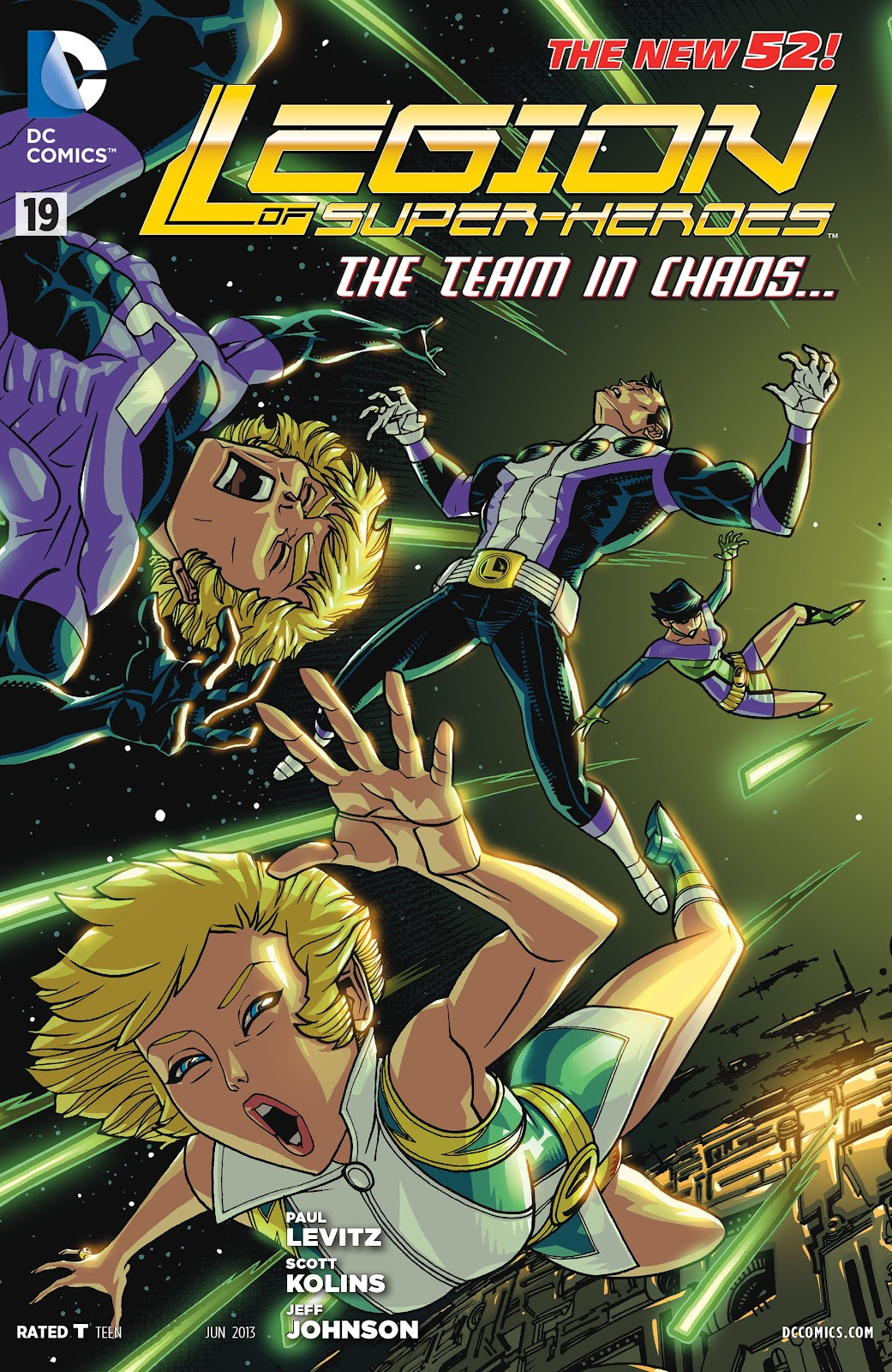 Legion of Super-Heroes (2011) Issue #19 #20 - English 1