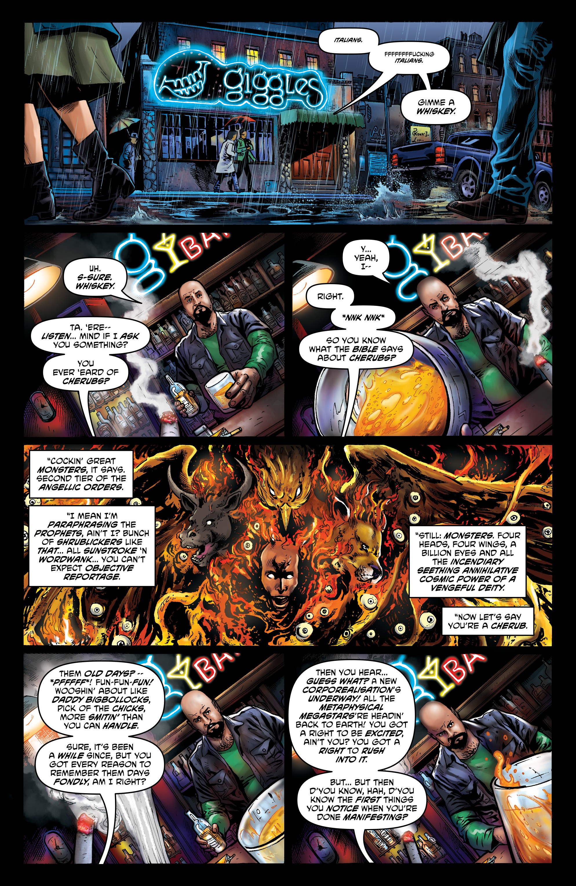 Read online God is Dead: Book of Acts comic -  Issue # Alpha - 37