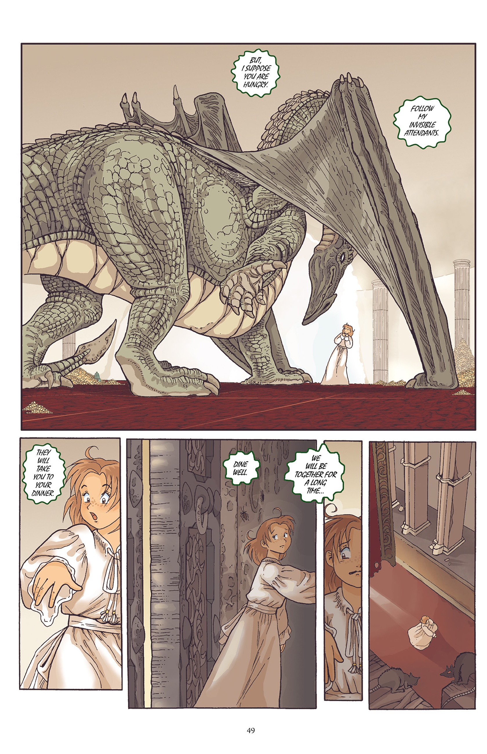Read online Courageous Princess comic -  Issue # TPB 1 - 50