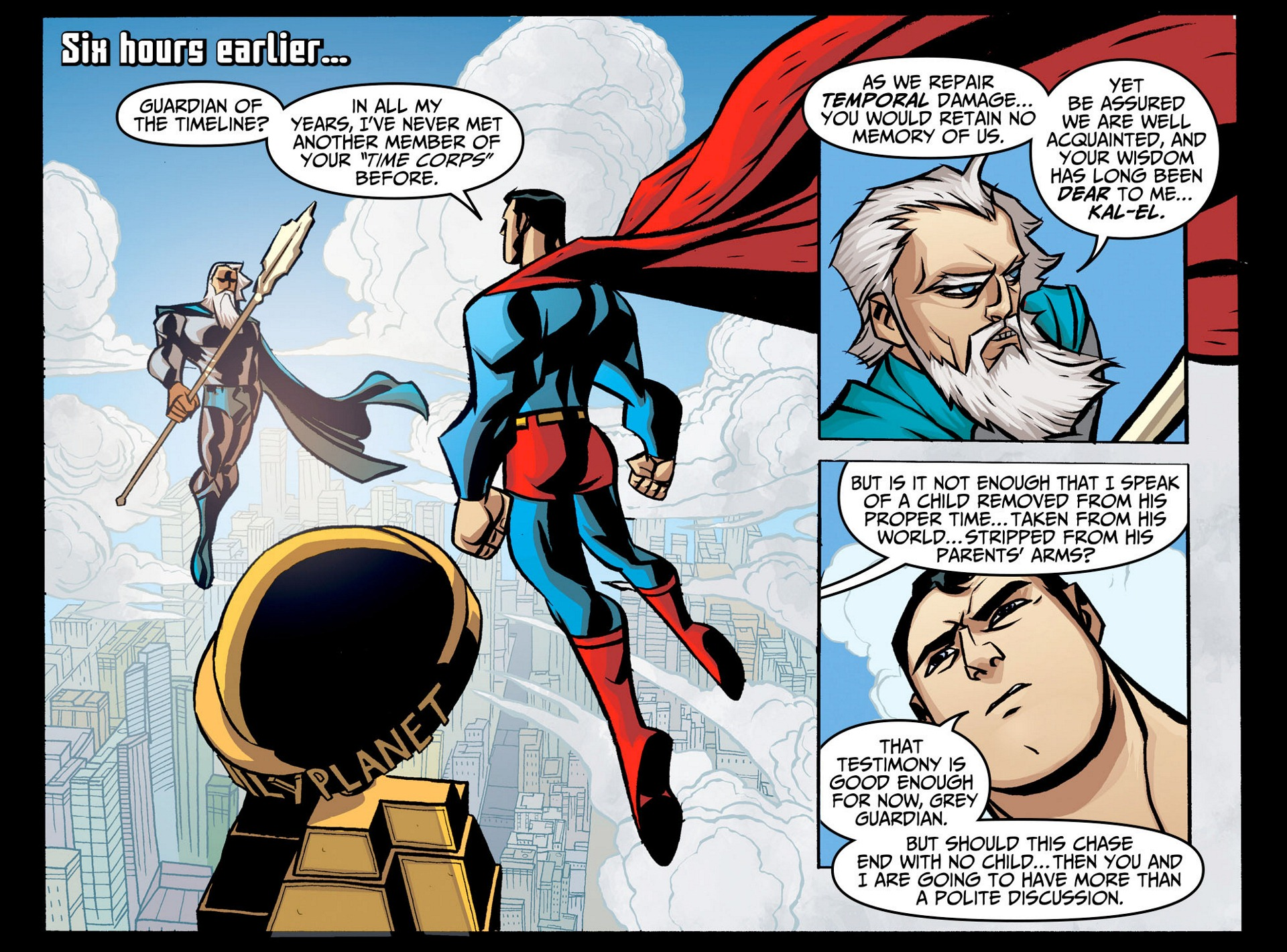 Read online Adventures of Superman [I] comic -  Issue #6 - 5