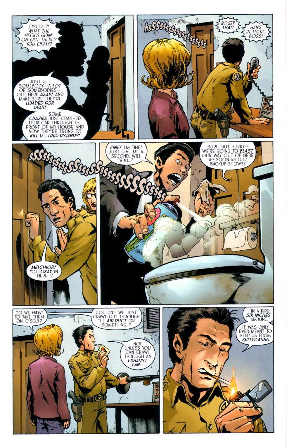 Read online Route 666 comic -  Issue #8 - 19