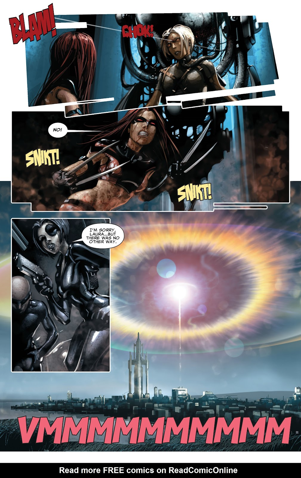 Read online X-Force/Cable: Messiah War comic -  Issue # _TPB (Part 2) - 124