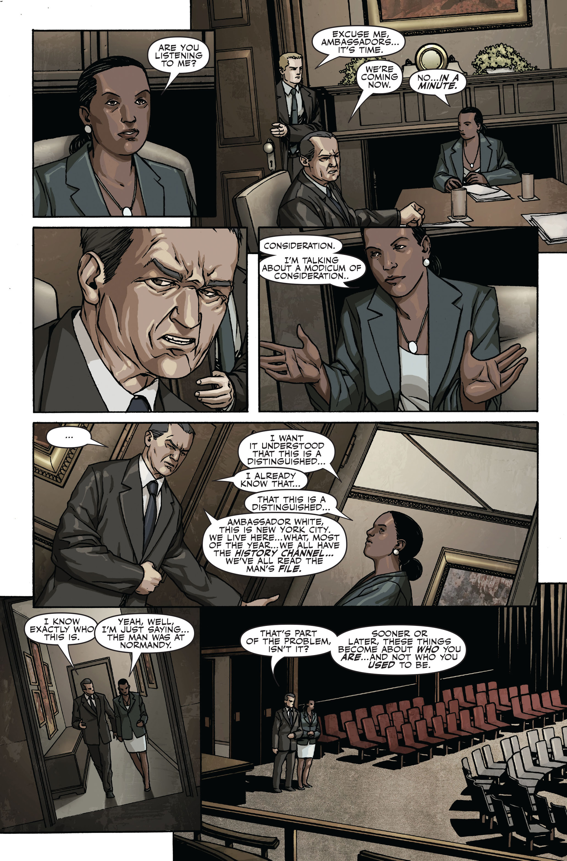 Read online Secret Warriors comic -  Issue #17 - 5