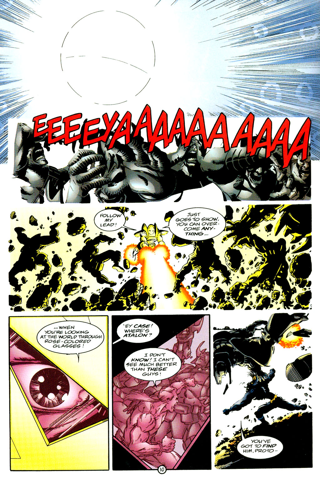 Read online UltraForce (1994) comic -  Issue #6 - 10