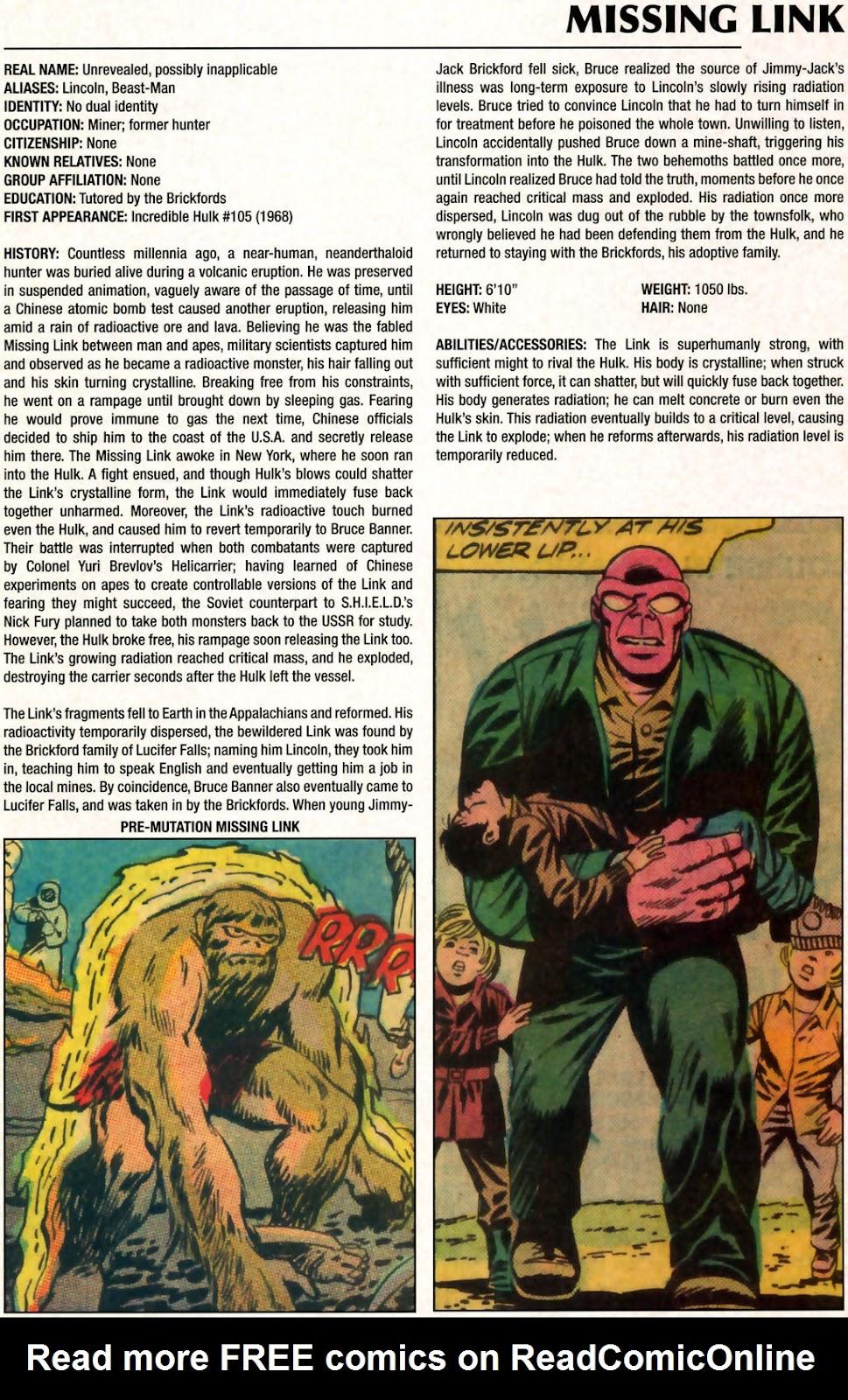 Read online Marvel Legacy: The 1970's Handbook comic -  Issue # Full - 41