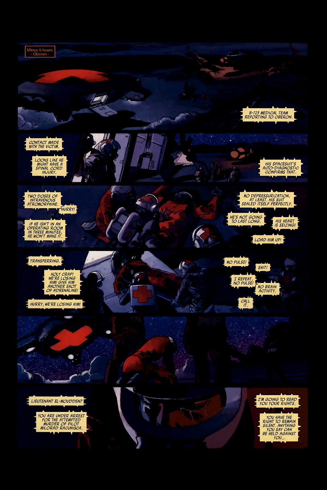Read online Universal War One: Revelations comic -  Issue #1 - 16
