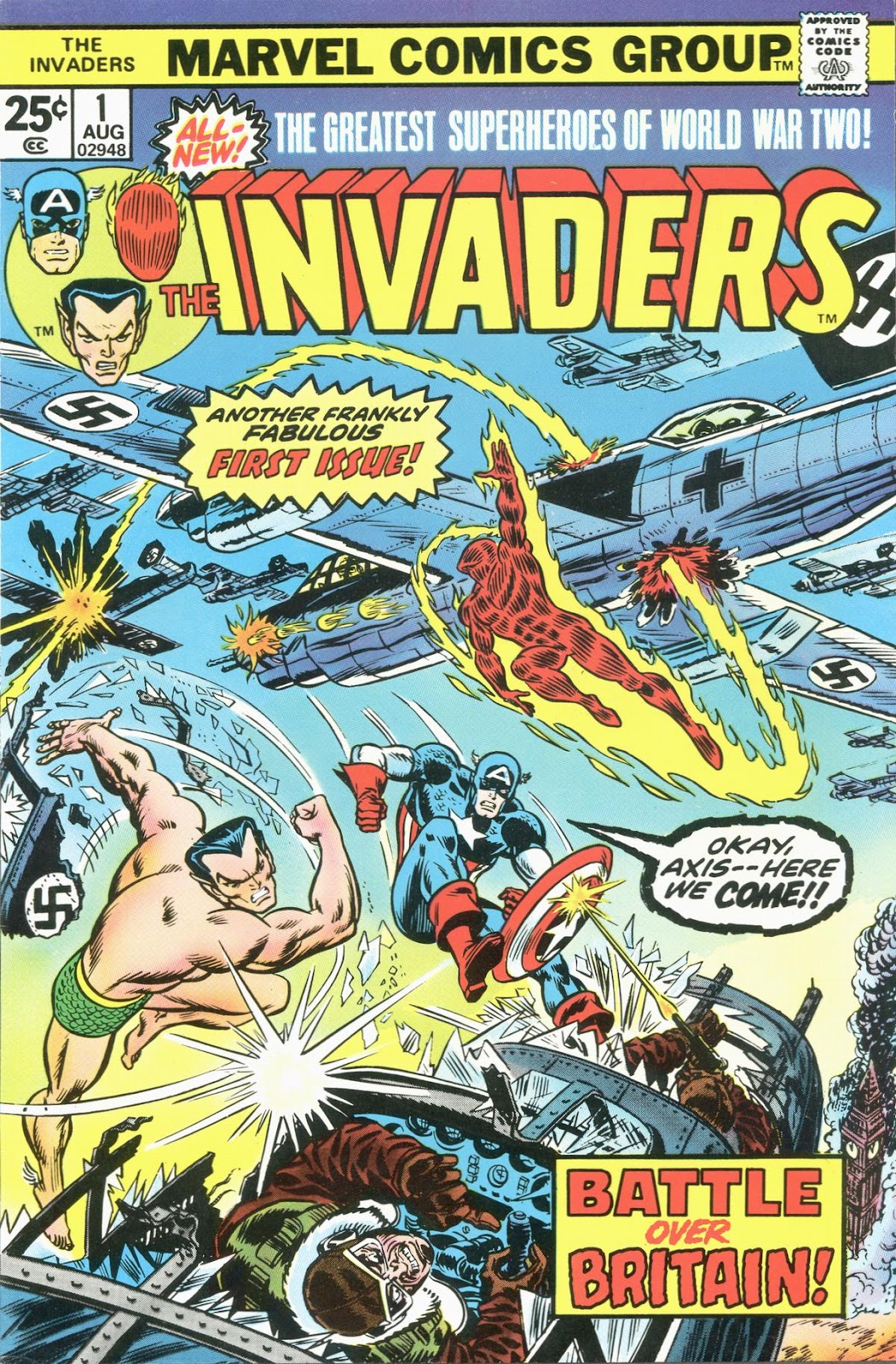 The Invaders (1975) issue 1 - Page 1