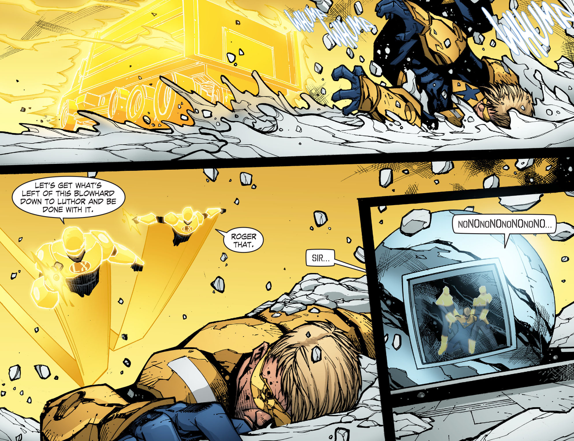 Read online Smallville: Chaos [II] comic -  Issue #6 - 10