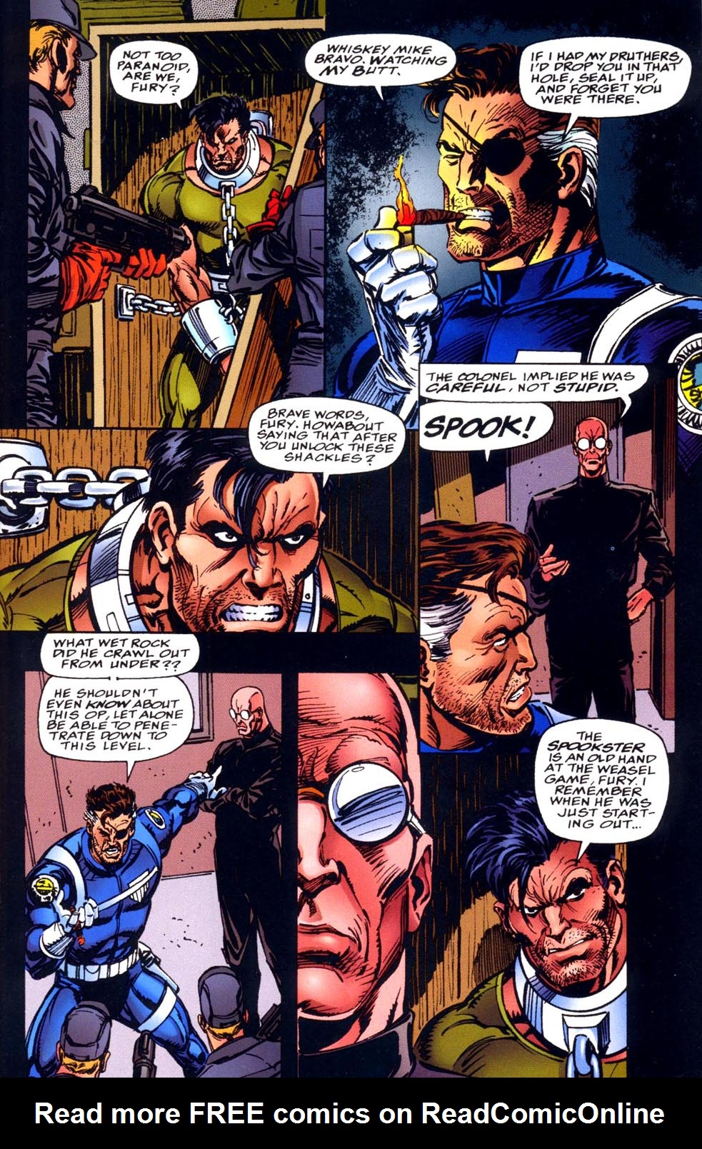 Read online Double Edge comic -  Issue # Issue Alpha - 9