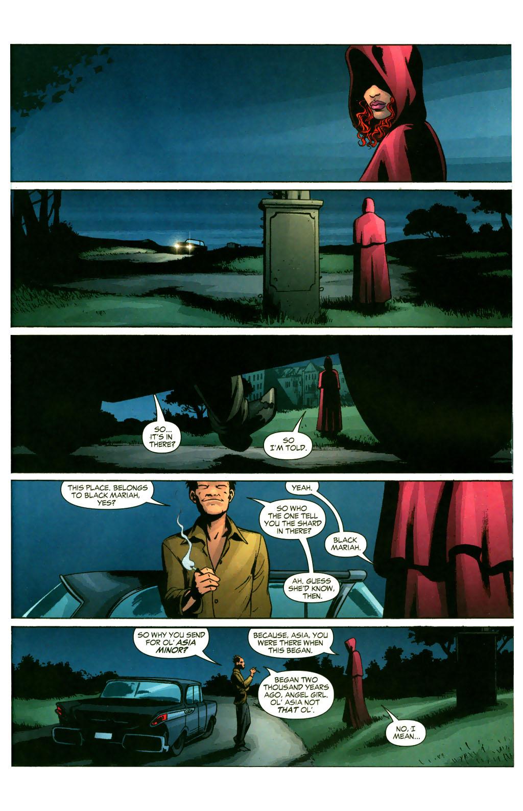 Read online Fallen Angel (2003) comic -  Issue #9 - 4