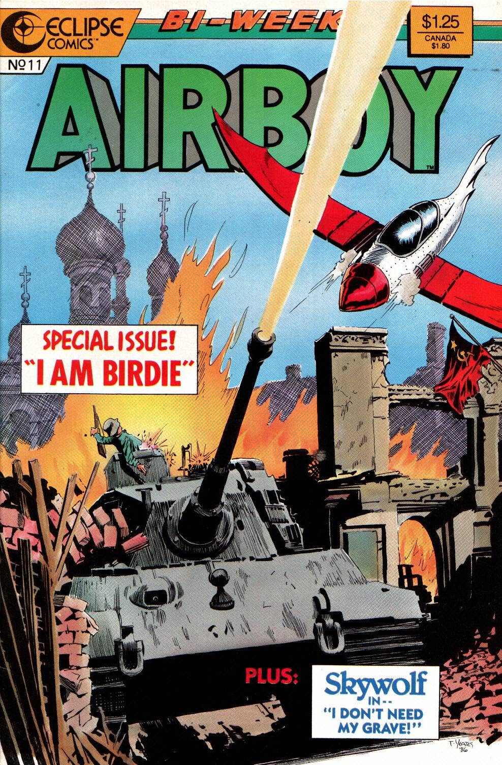 Airboy (1986) 11 Page 1