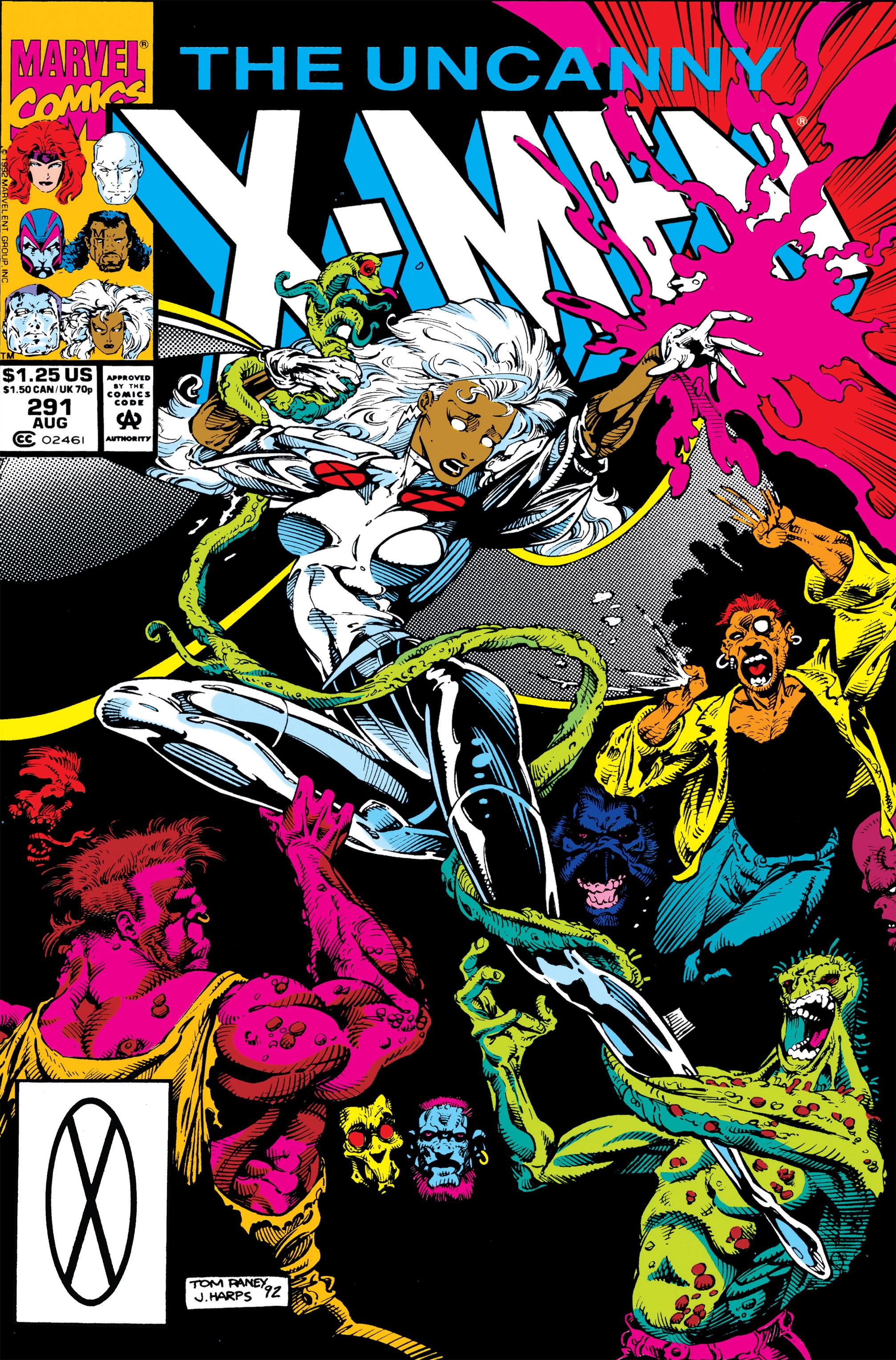 Uncanny X-Men (1963) 291 Page 1