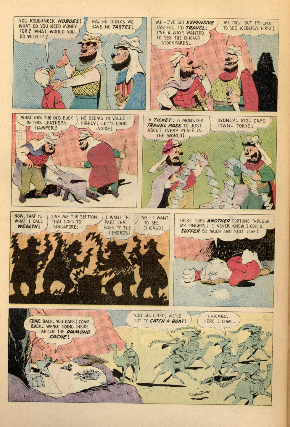 Read online Uncle Scrooge (1953) comic -  Issue #108 - 30