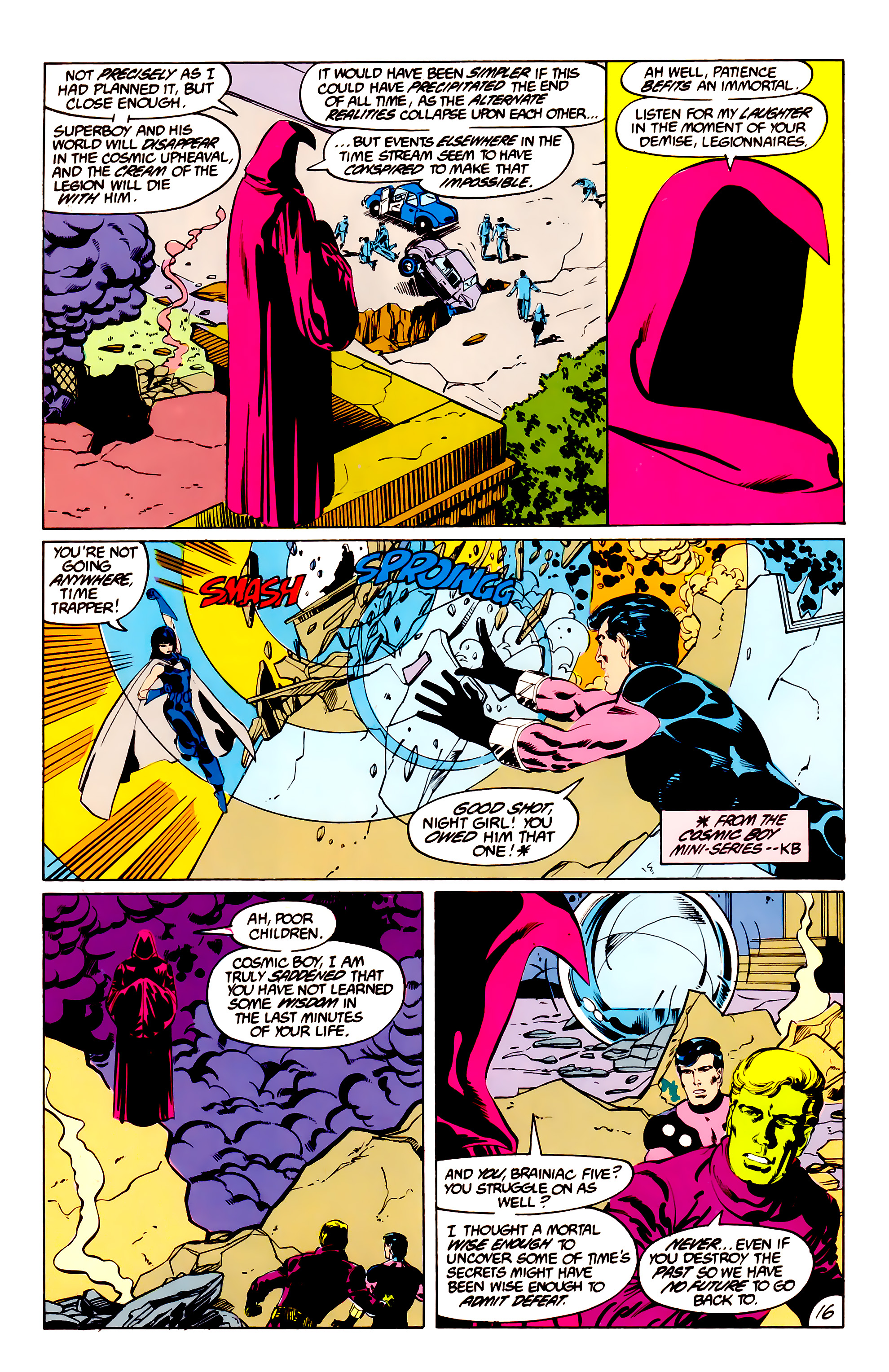 Legion of Super-Heroes (1984) 38 Page 16