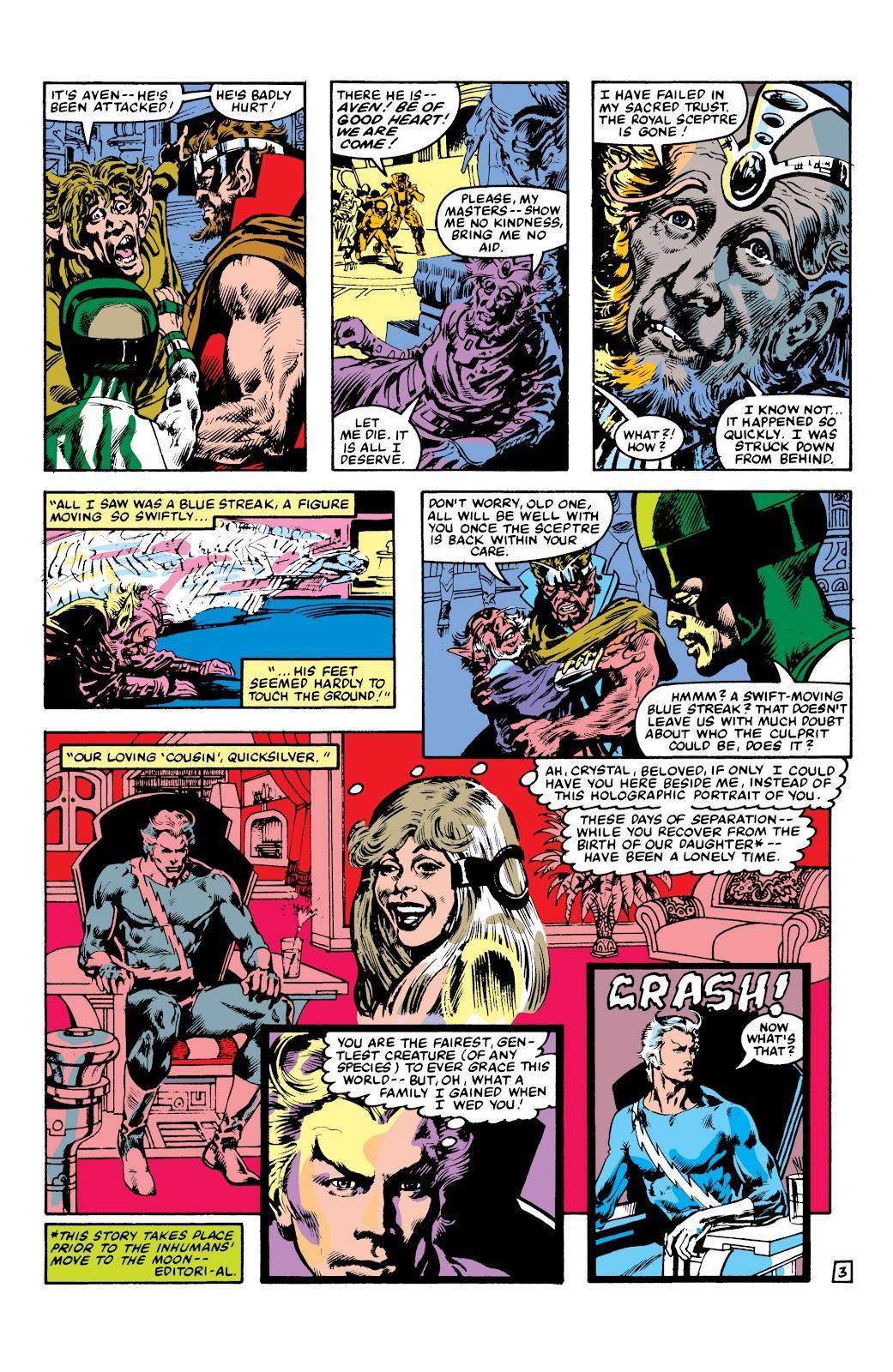 Read online Marvel Masterworks: The Inhumans comic -  Issue # TPB 2 (Part 3) - 106