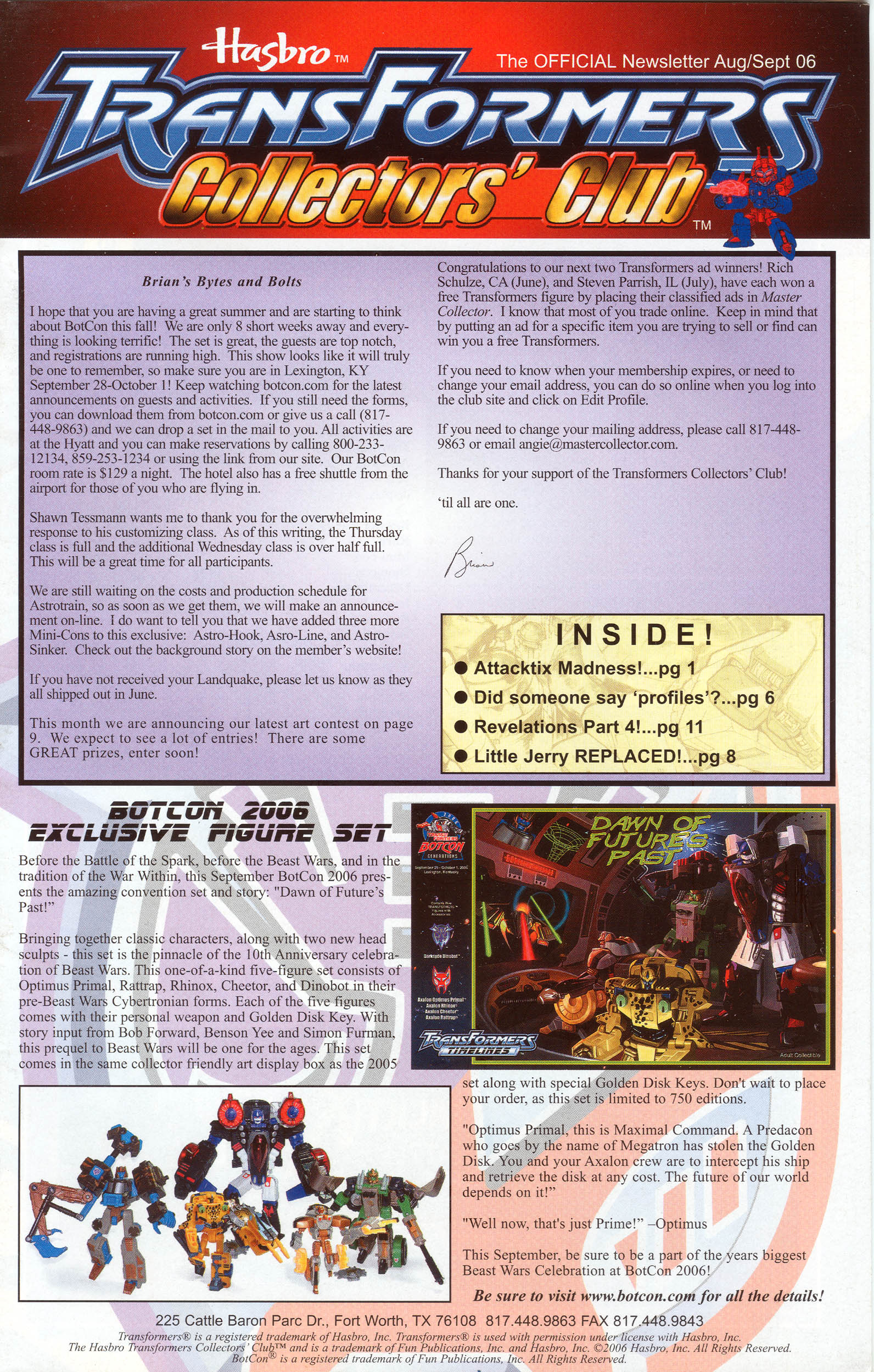 Read online Transformers: Collectors' Club comic -  Issue #10 - 1