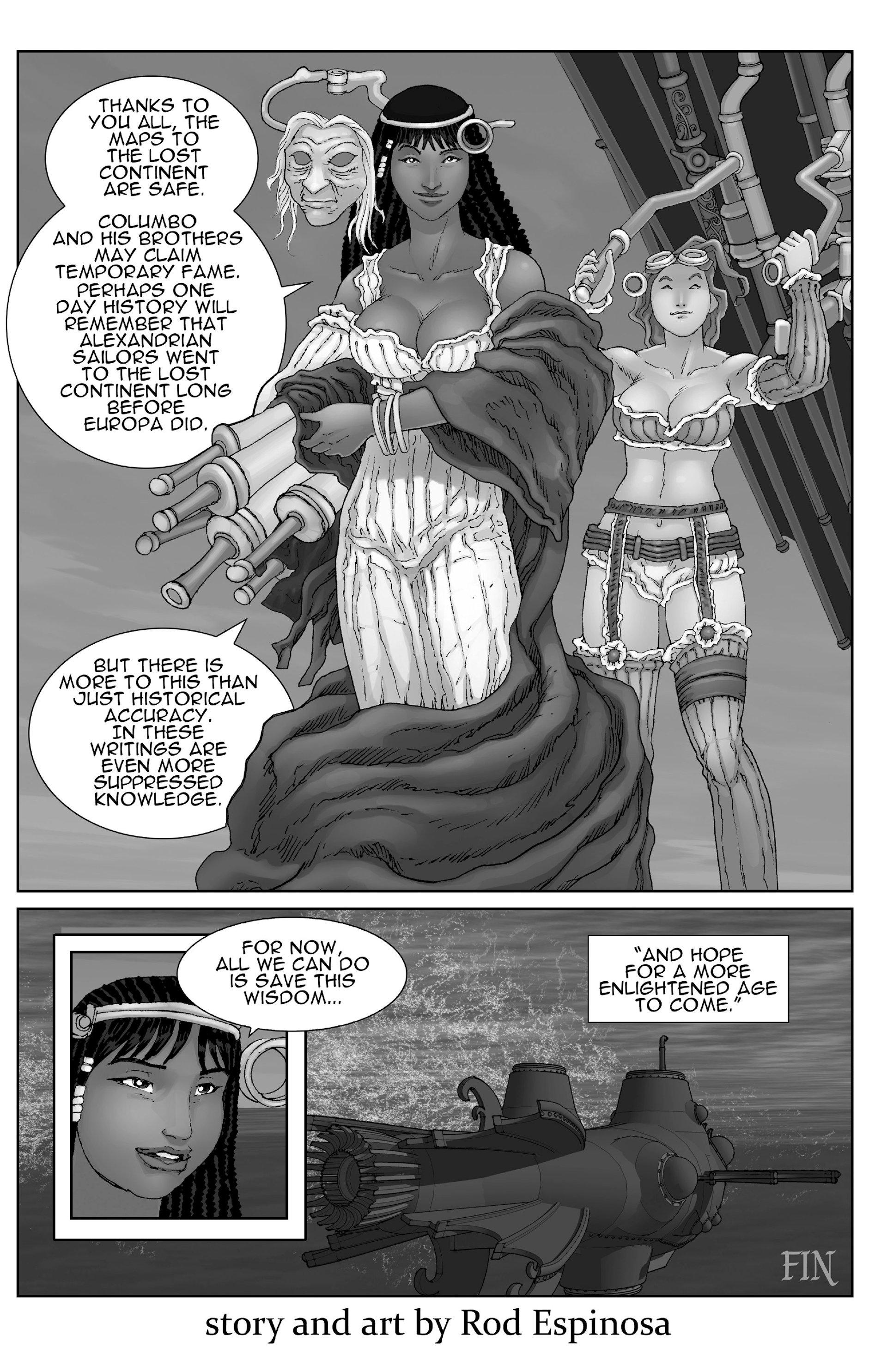 Read online Steampunk Halloween 2012 comic -  Issue # Full - 16