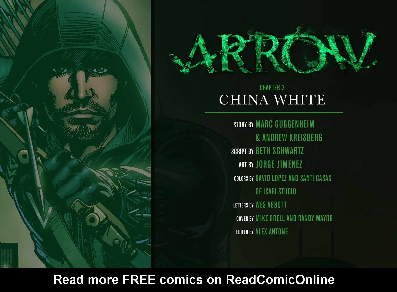 Read online Arrow [II] comic -  Issue #3 - 2