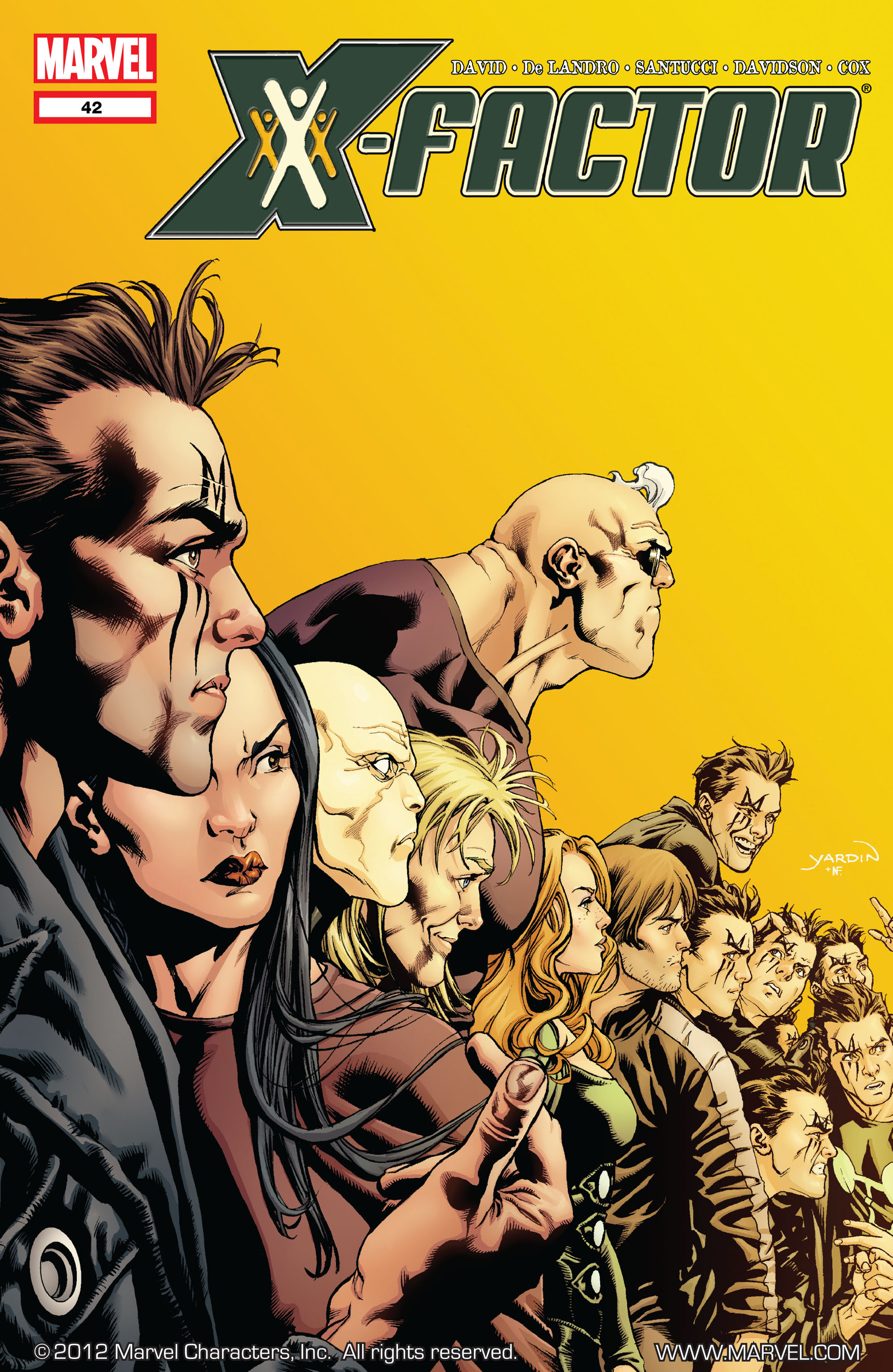Read online X-Factor (2006) comic -  Issue #42 - 1