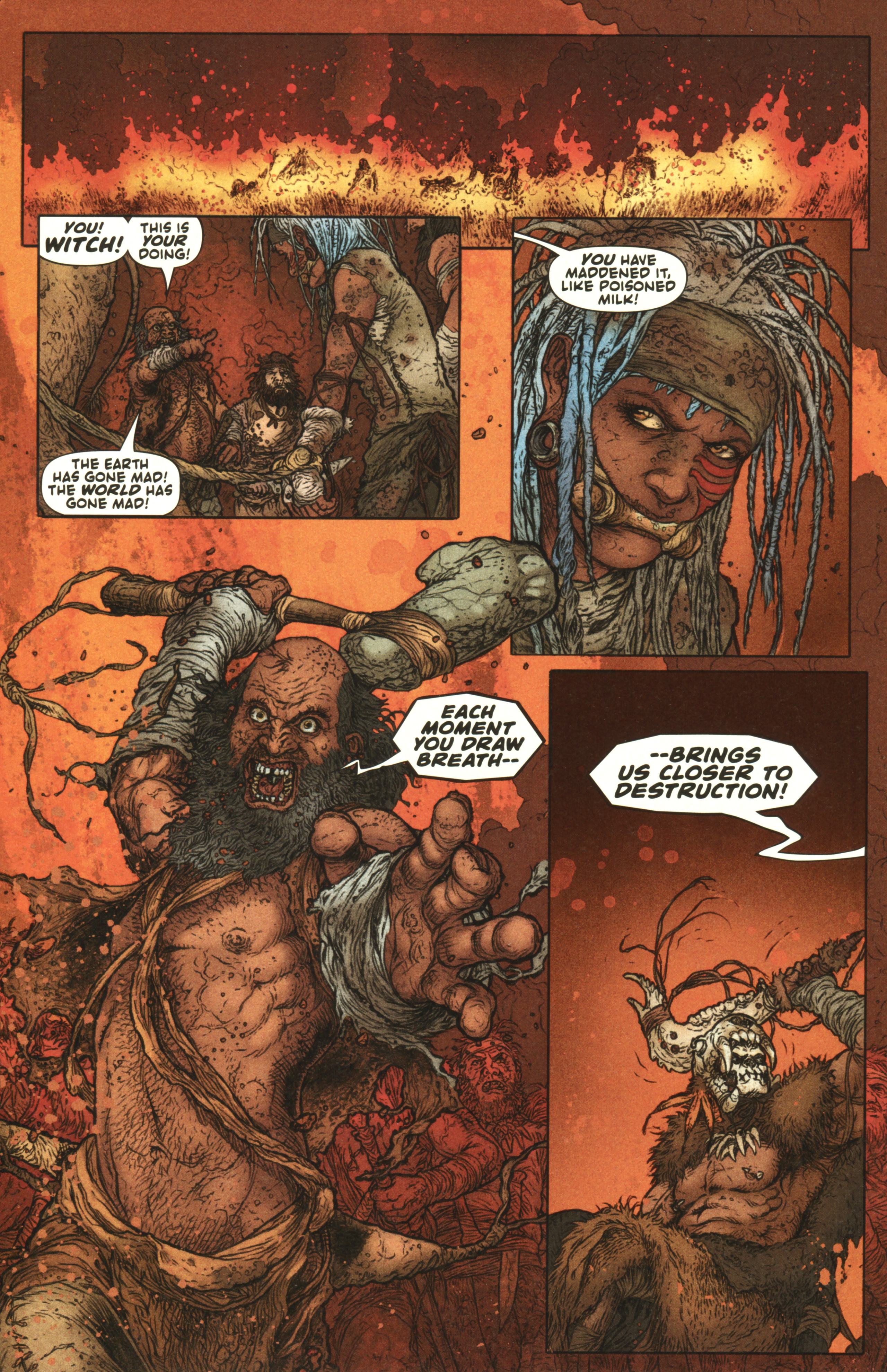 Read online Book of Death: Legends of the Geomancer comic -  Issue #1 - 8
