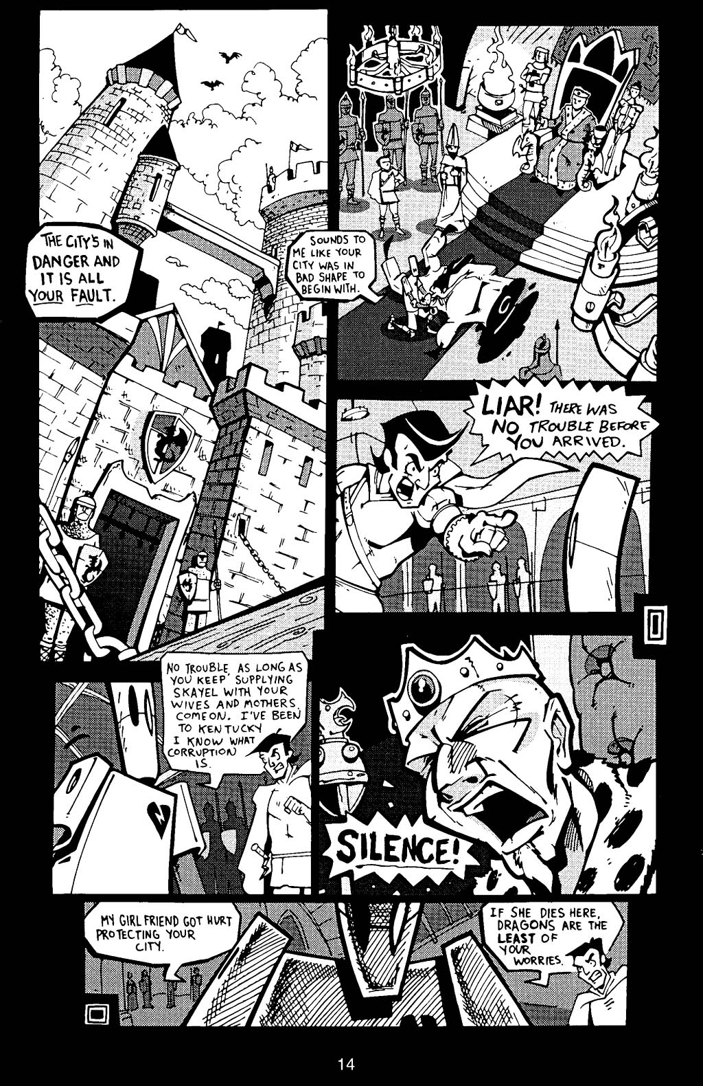 Read online Scud: The Disposable Assassin (1994) comic -  Issue #17 - 16