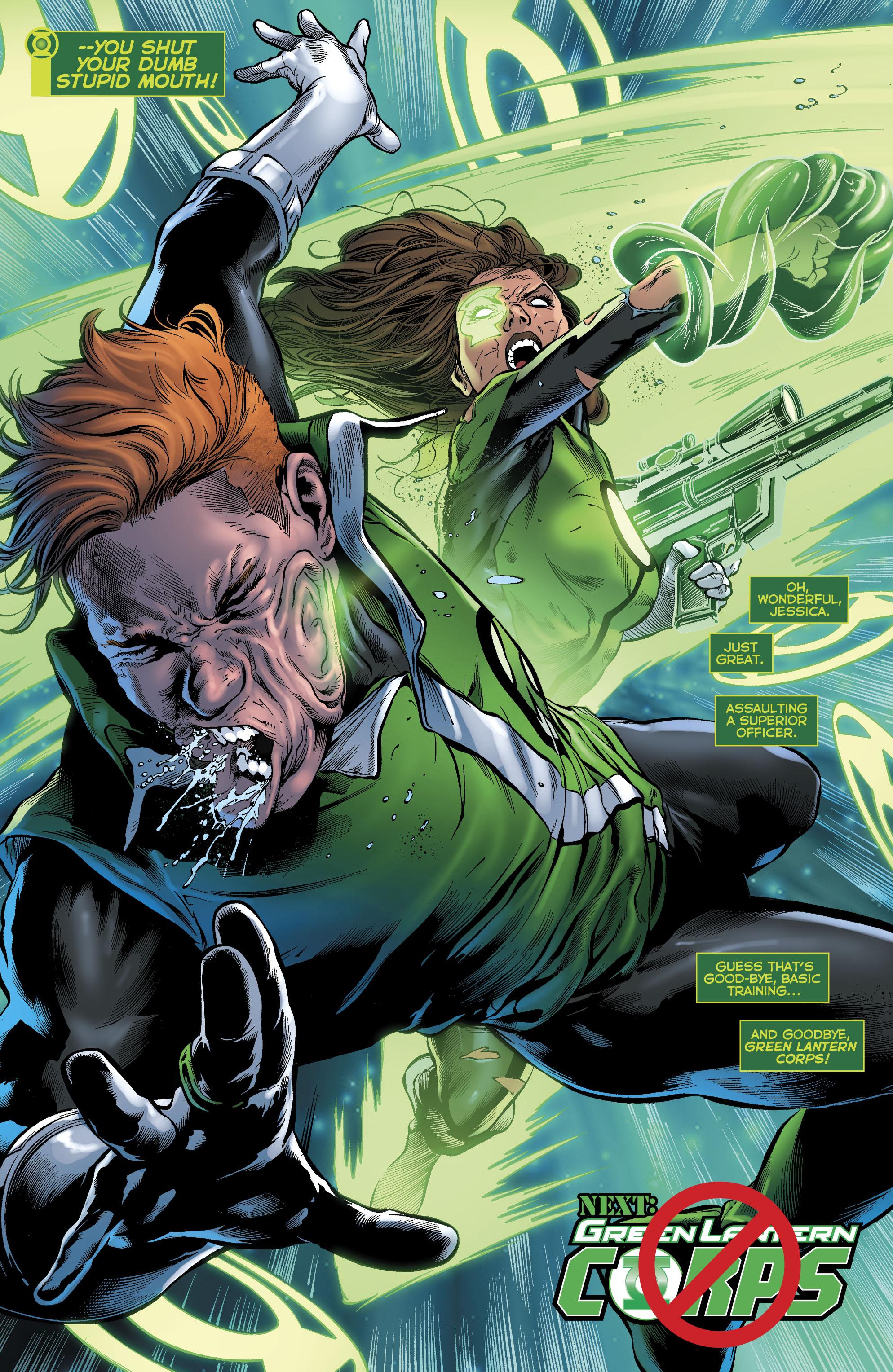 Read online Green Lanterns comic -  Issue #23 - 22
