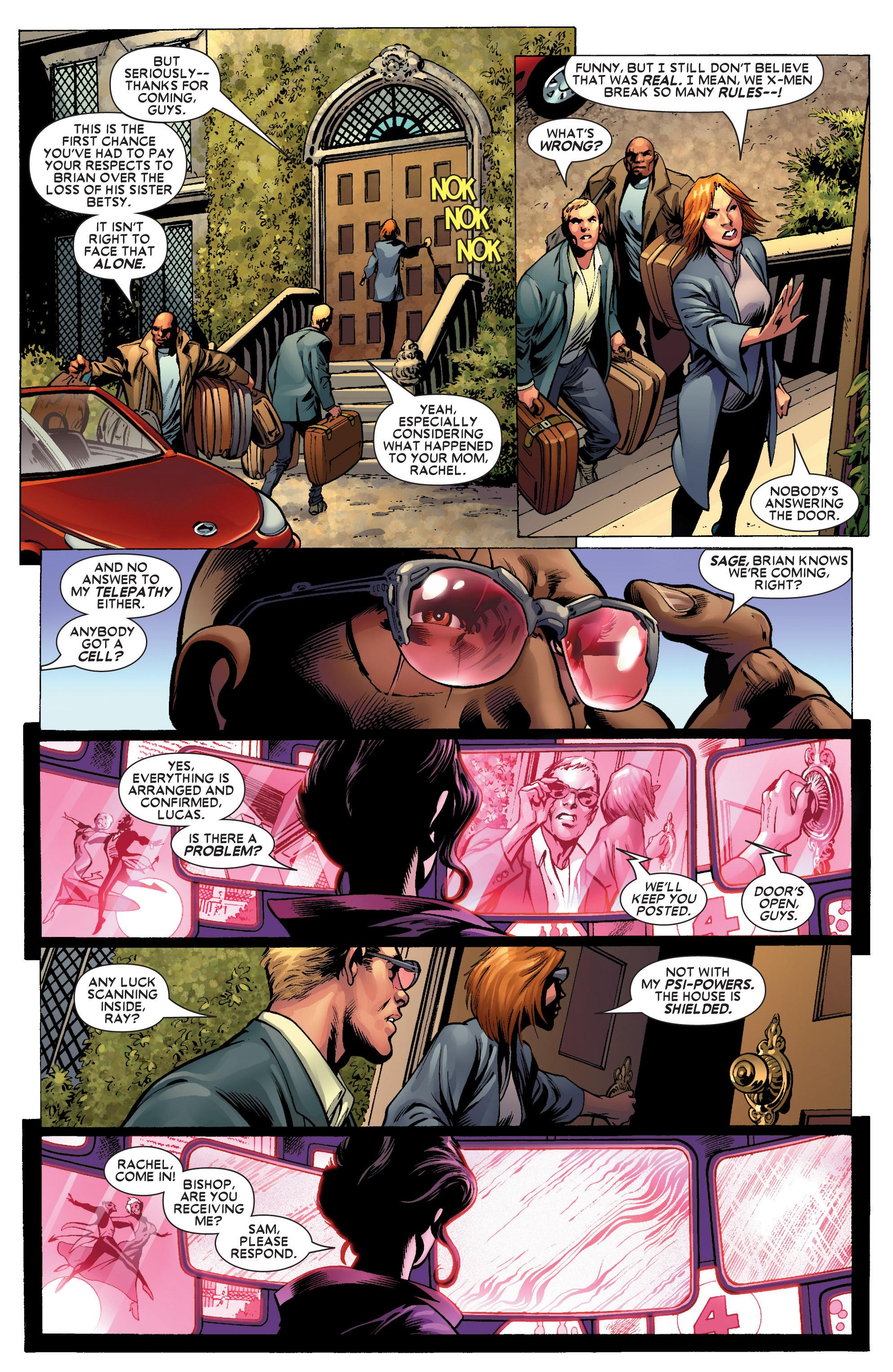 Read online Uncanny X-Men (1963) comic -  Issue #445 - 17