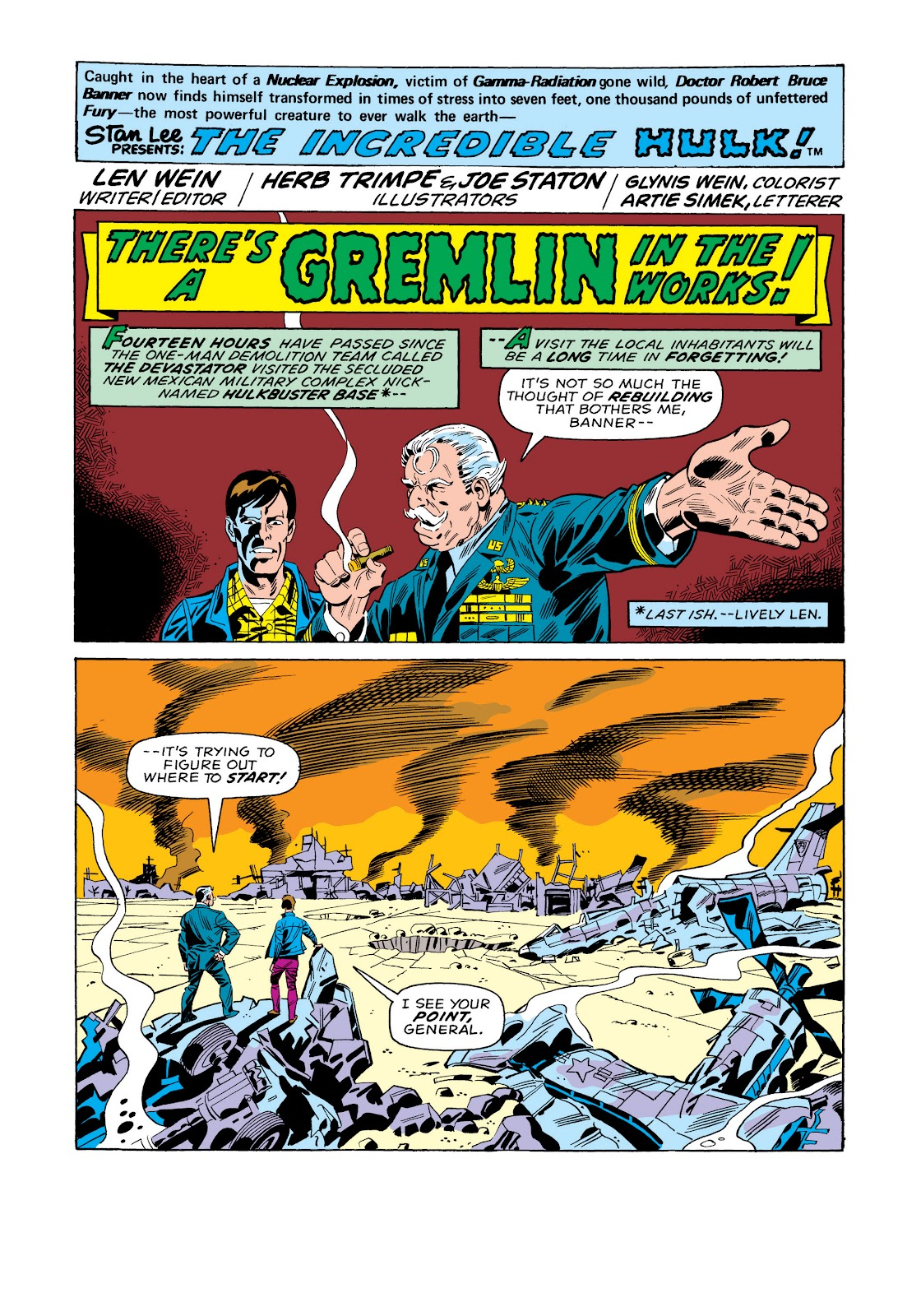 Read online Marvel Masterworks: The Incredible Hulk comic -  Issue # TPB 11 (Part 1) - 64