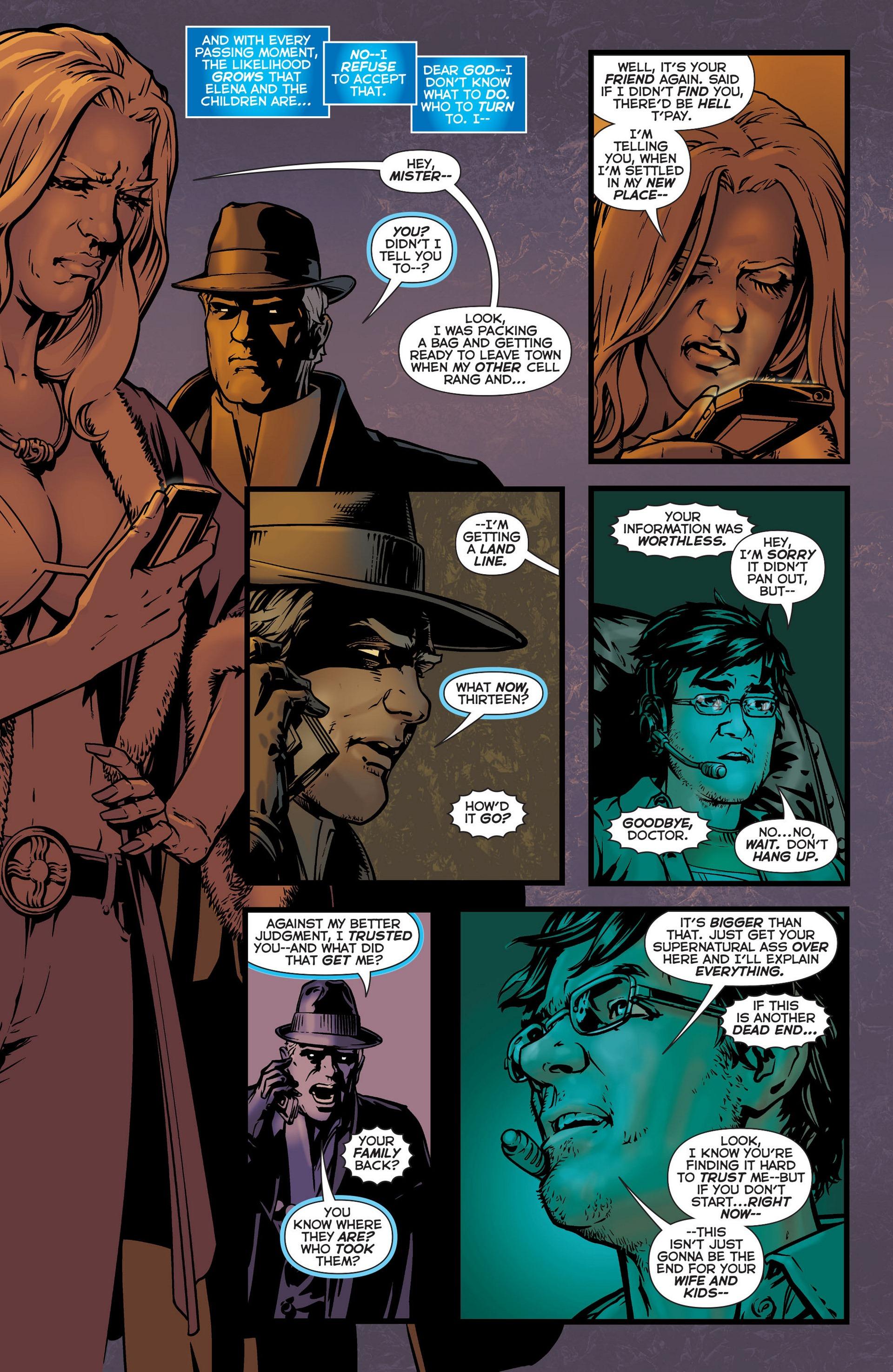 Read online Trinity of Sin: The Phantom Stranger comic -  Issue #6 - 19