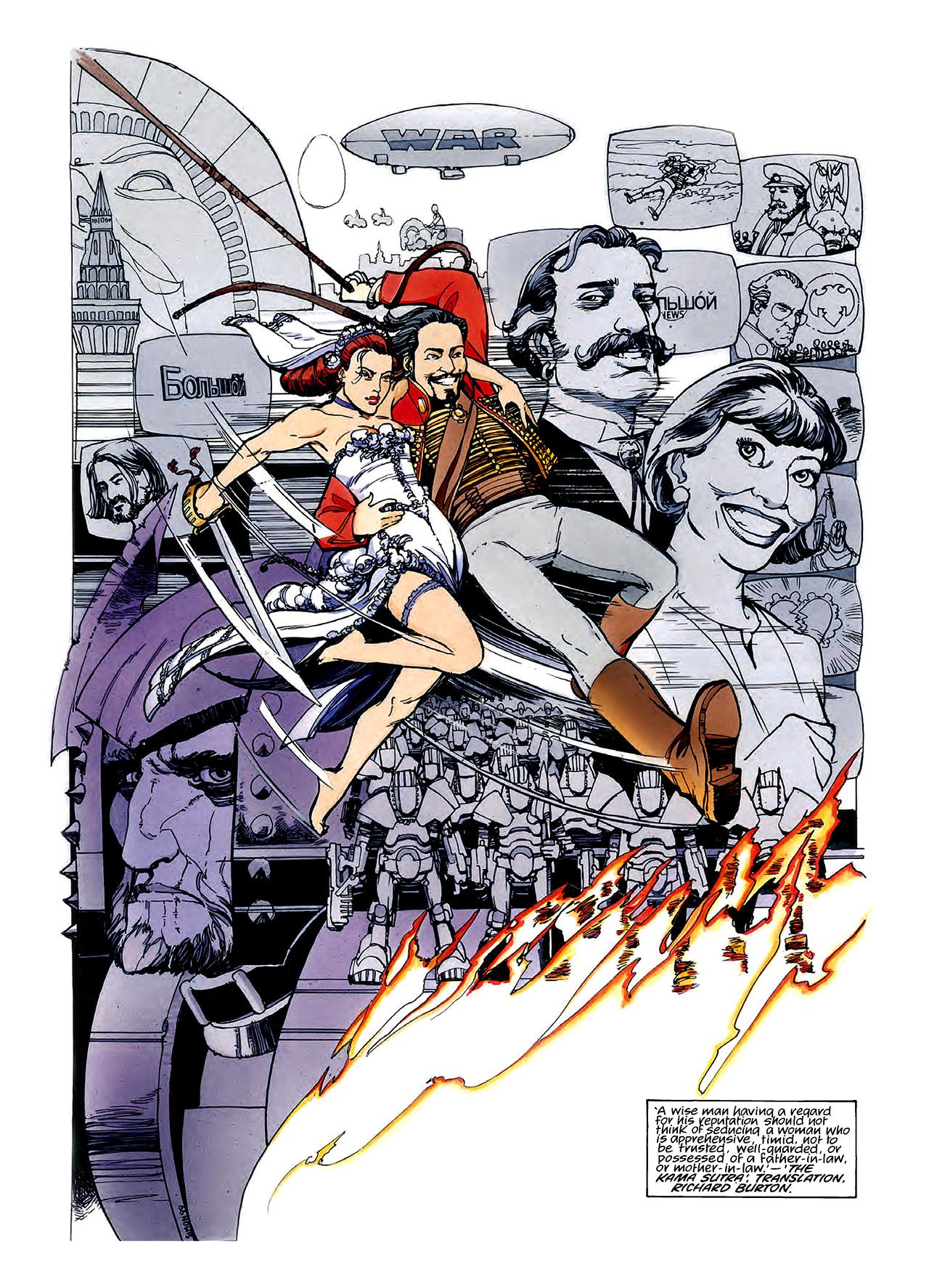 Read online Nikolai Dante comic -  Issue # TPB 3 - 60
