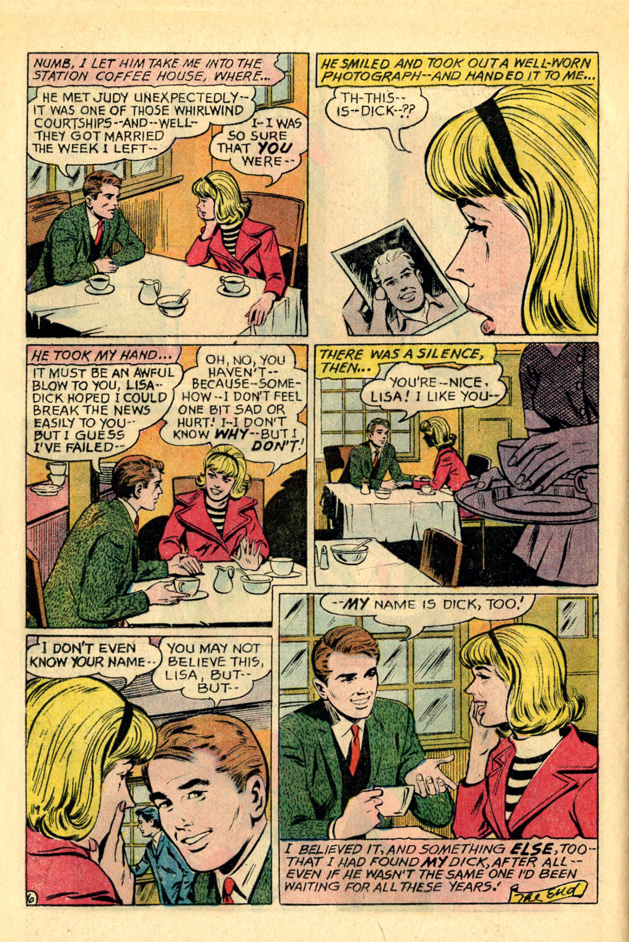 Read online Secret Hearts comic -  Issue #118 - 8