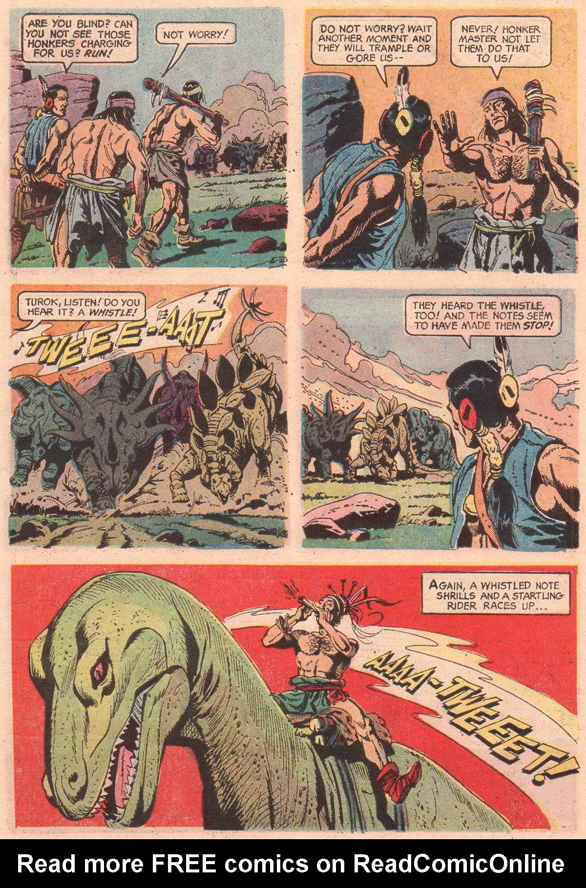 Read online Turok, Son of Stone comic -  Issue #56 - 6