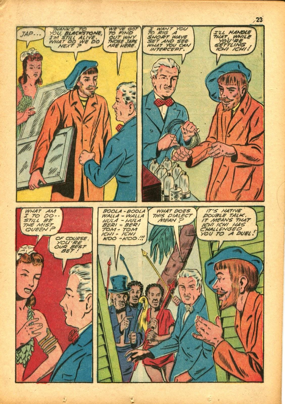 Read online Super-Magician Comics comic -  Issue #15 - 23