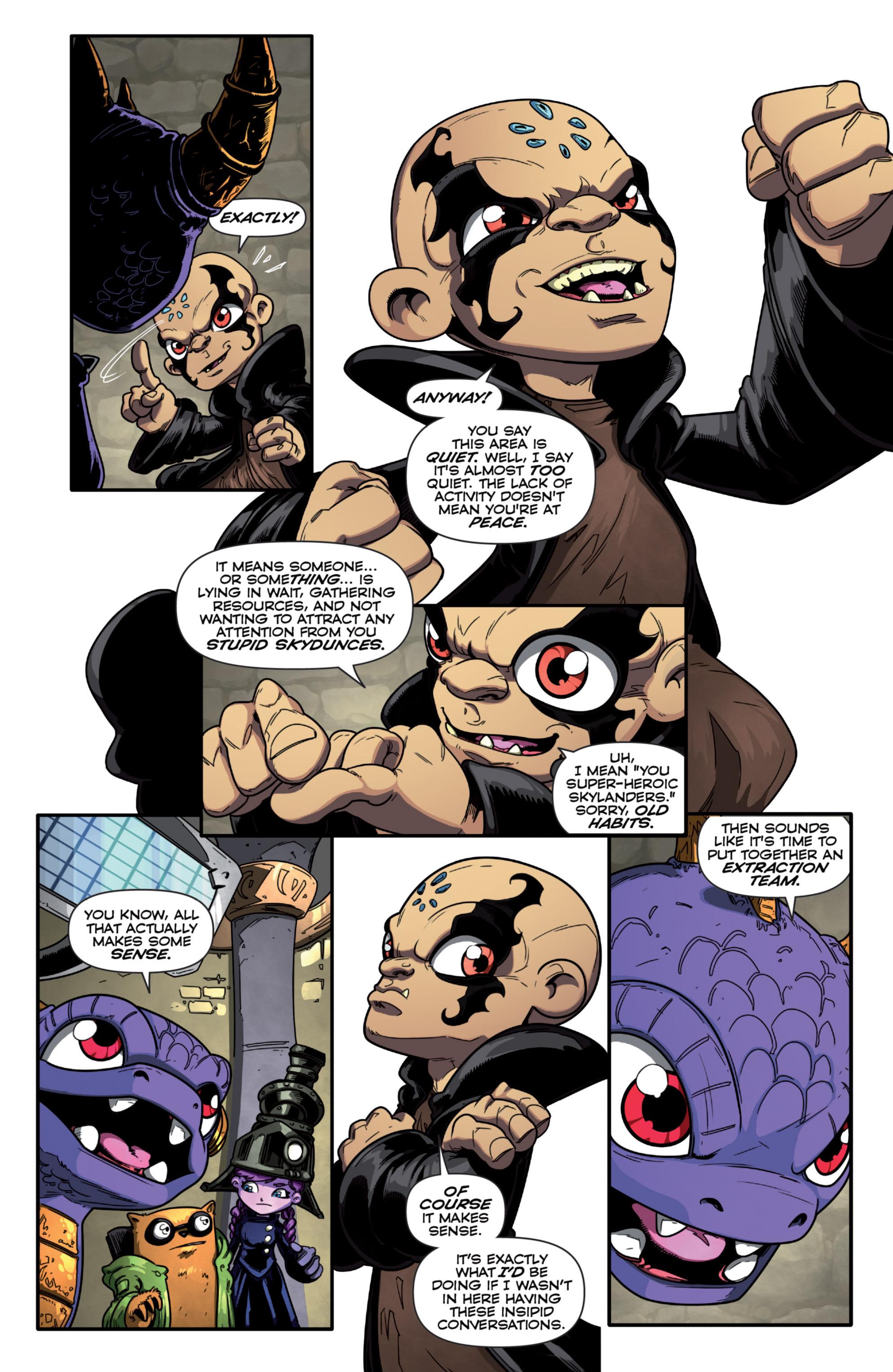 Read online Skylanders Superchargers comic -  Issue #1 - 8