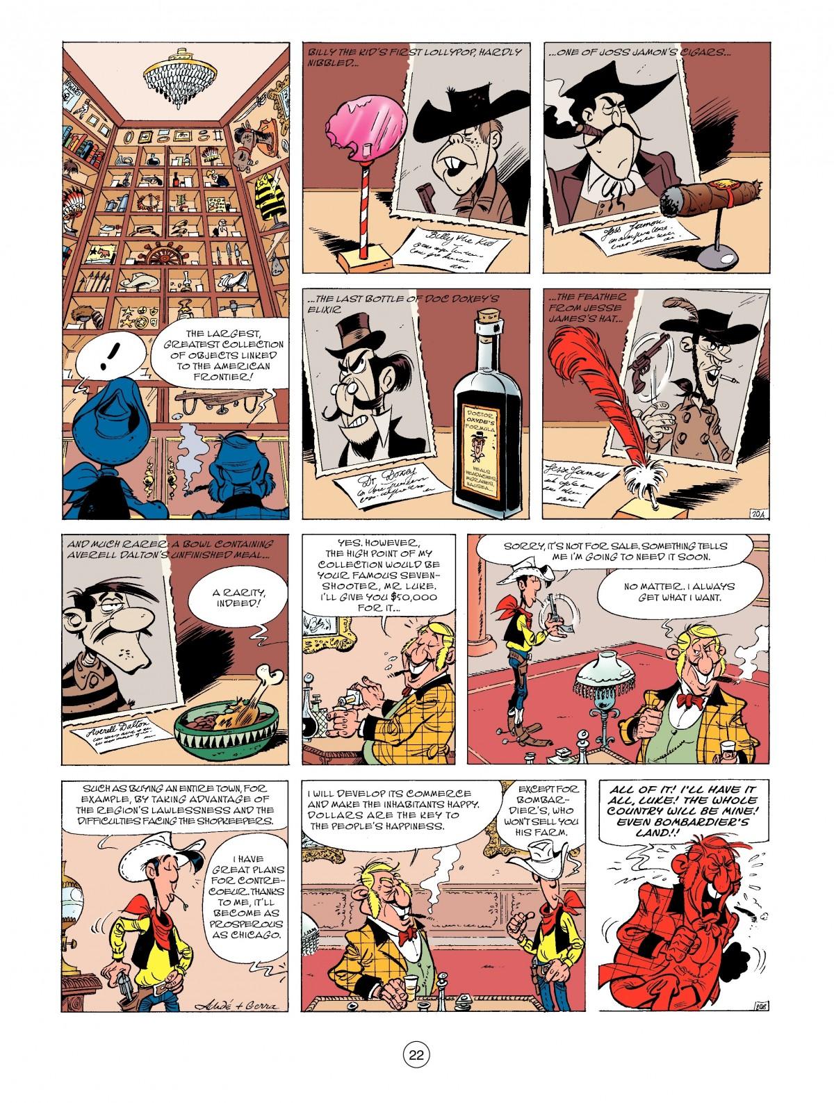 Read online A Lucky Luke Adventure comic -  Issue #52 - 24