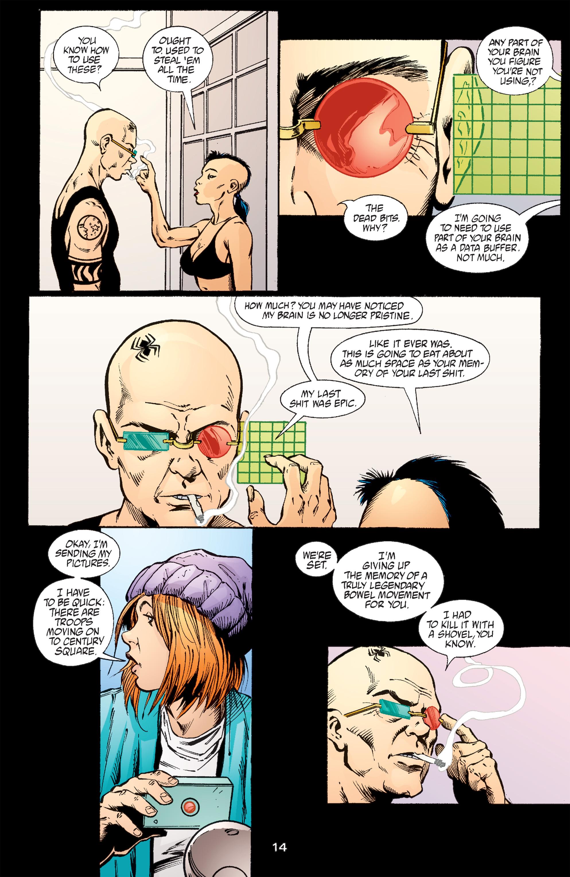 Read online Transmetropolitan comic -  Issue #57 - 15