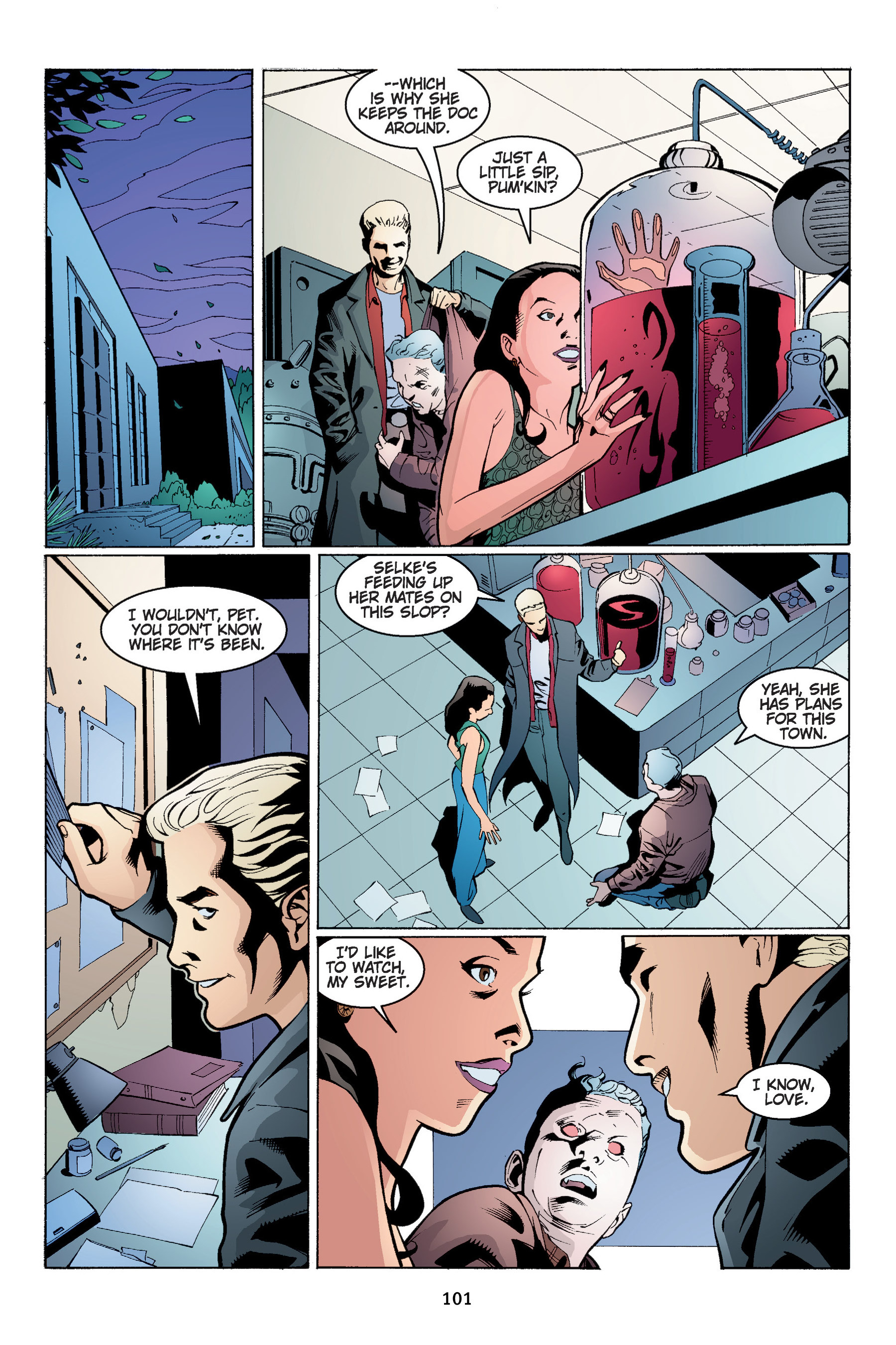 Read online Buffy the Vampire Slayer: Omnibus comic -  Issue # TPB 4 - 102
