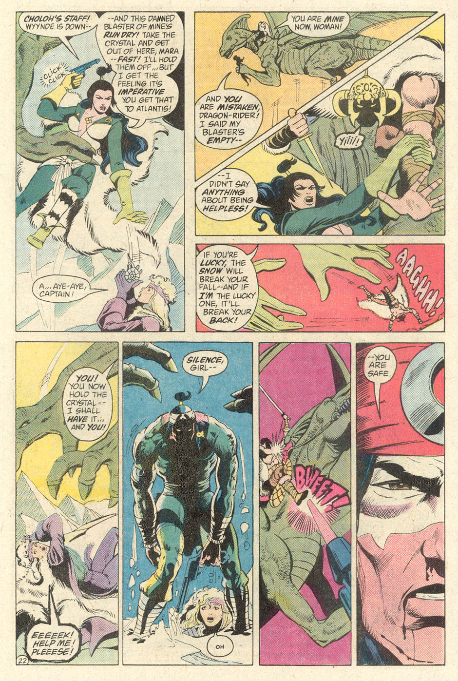 Read online Arion, Lord of Atlantis comic -  Issue #2 - 22