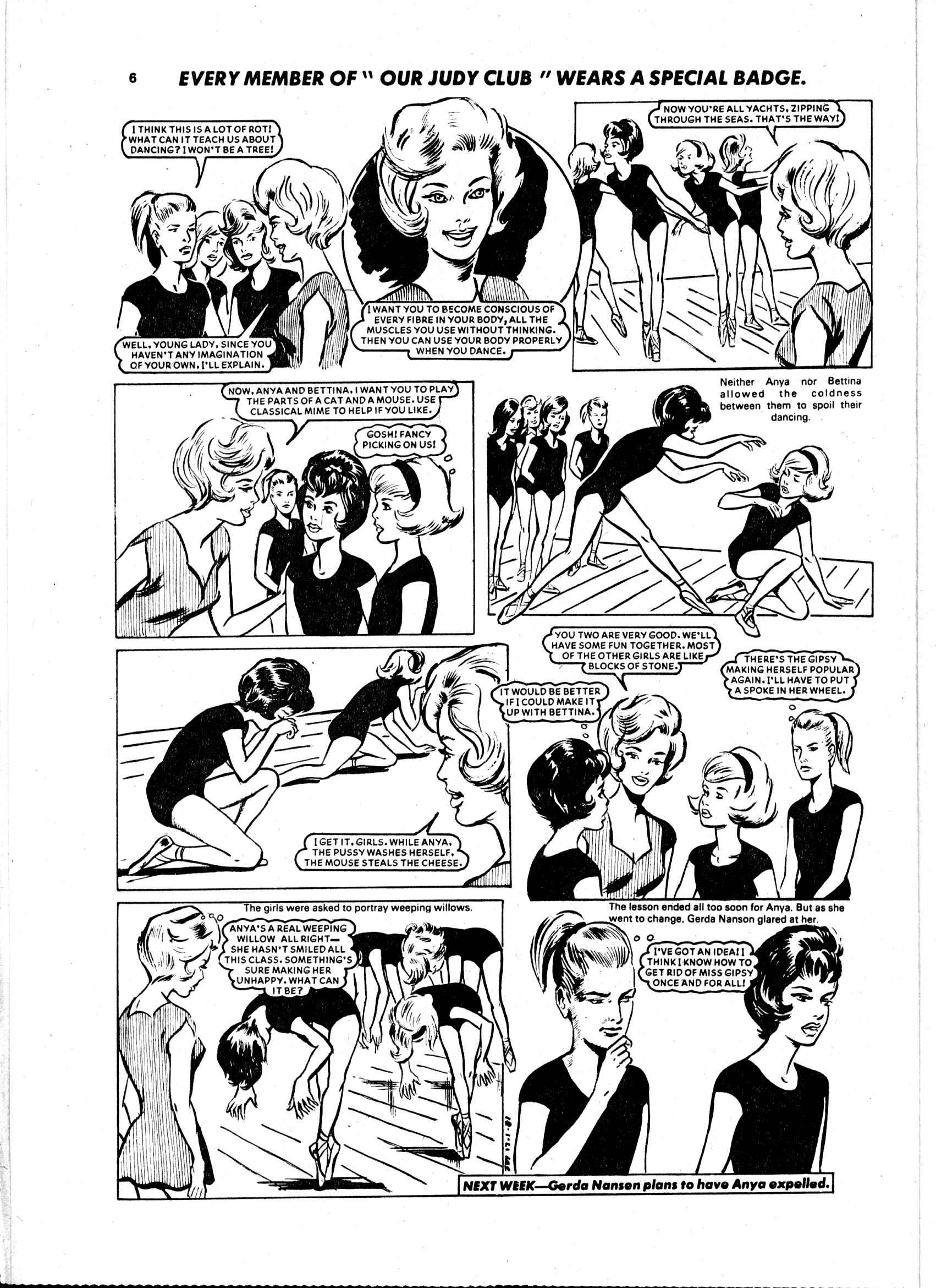 Read online Judy comic -  Issue #97 - 6