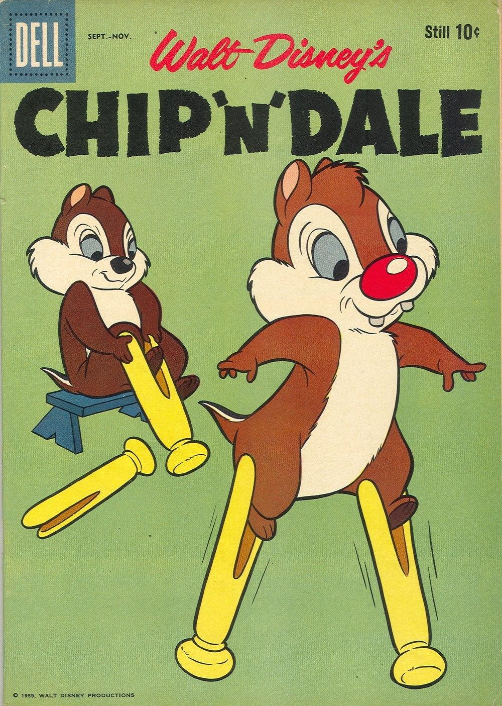 Walt Disneys Chip N Dale issue 19 - Page 1