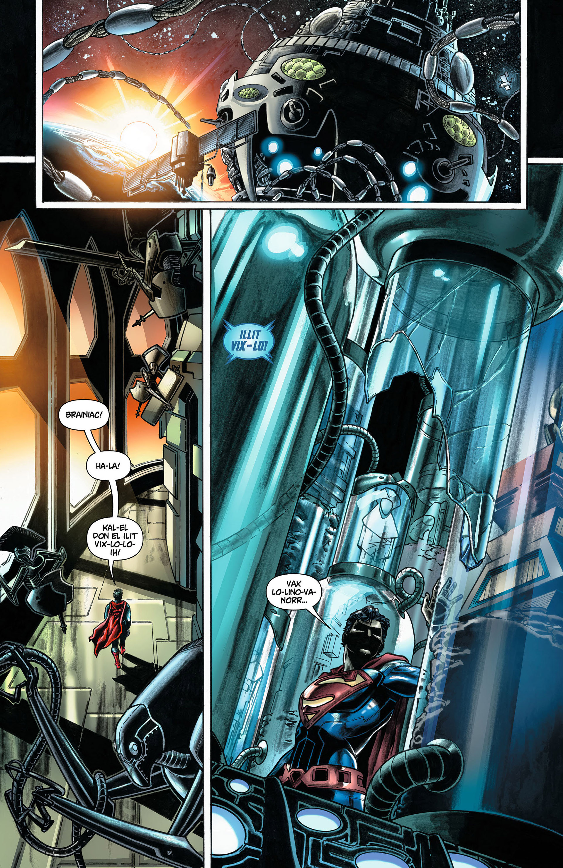 Read online Action Comics (2011) comic -  Issue #8 - 30