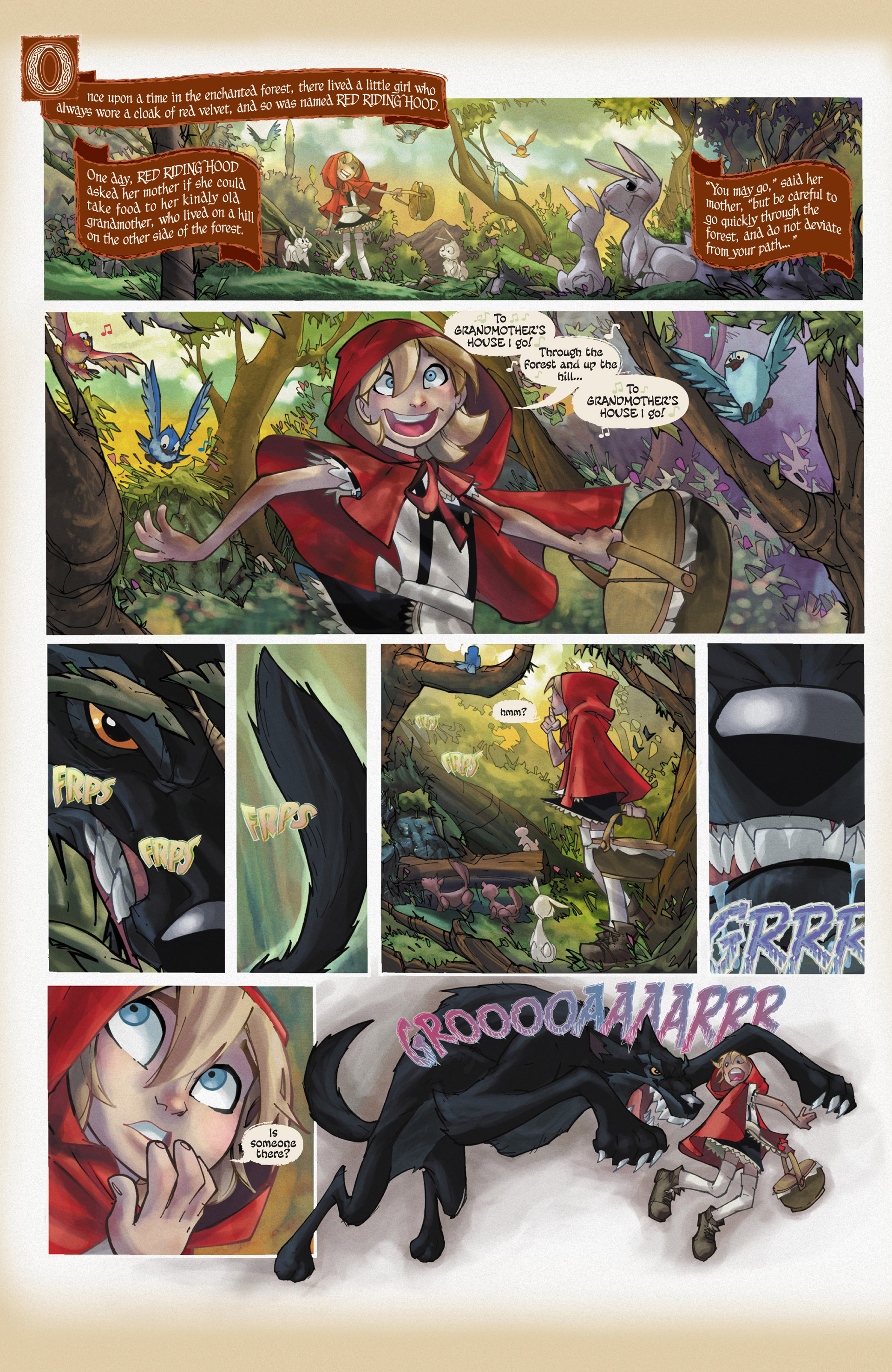 Read online Fairy Quest: Outlaws comic -  Issue #1 - 4