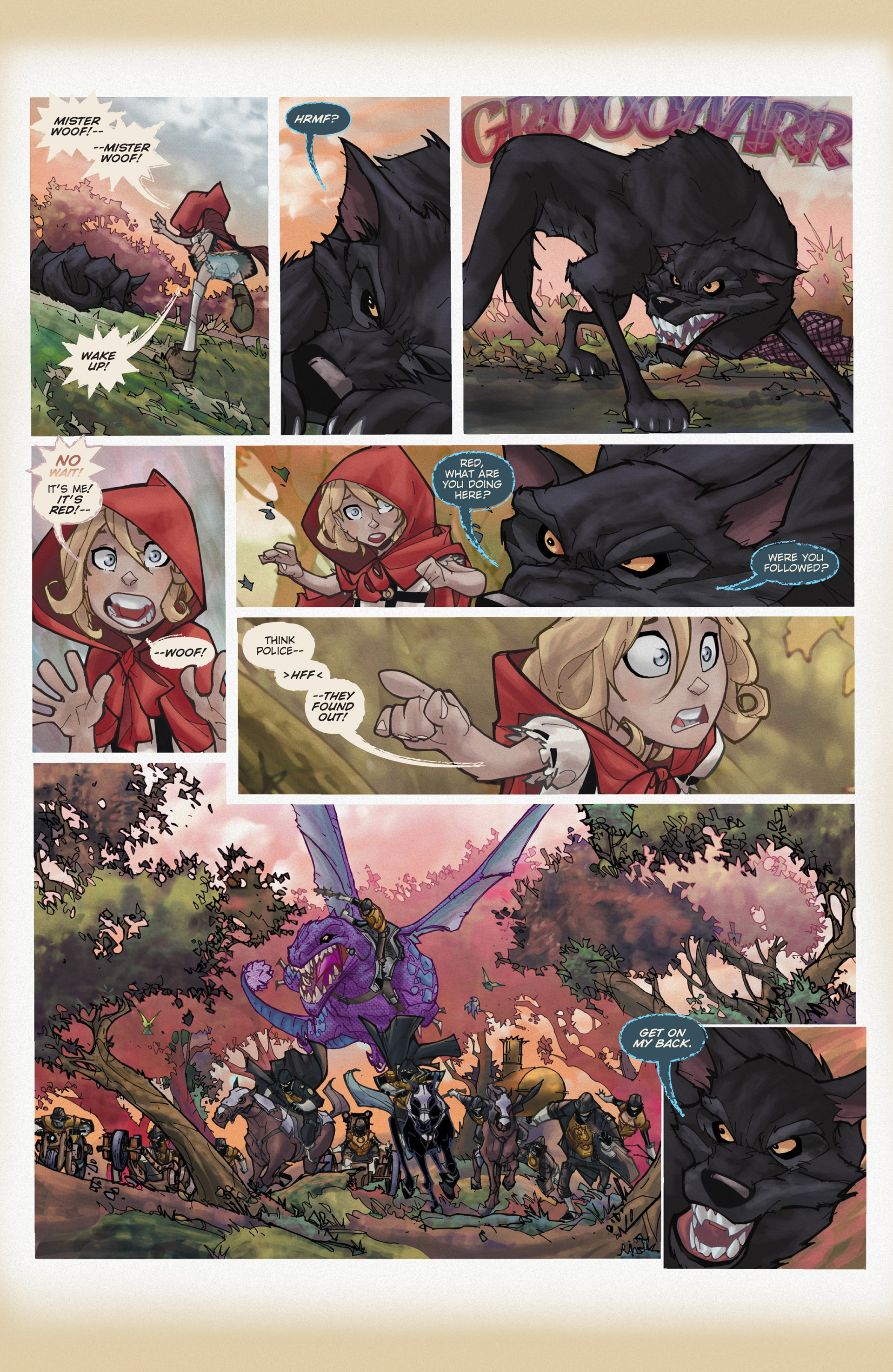 Read online Fairy Quest: Outlaws comic -  Issue #1 - 18