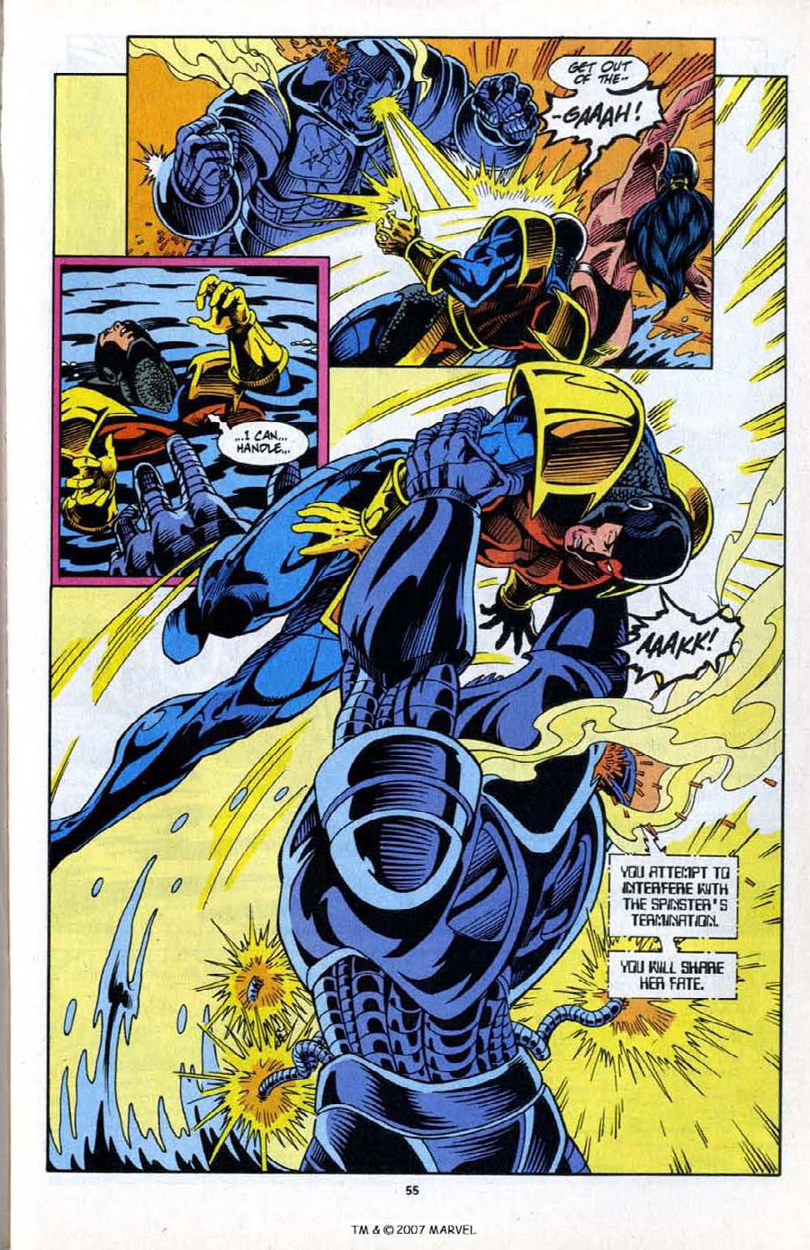 Read online Silver Surfer (1987) comic -  Issue # _Annual 6 - 57