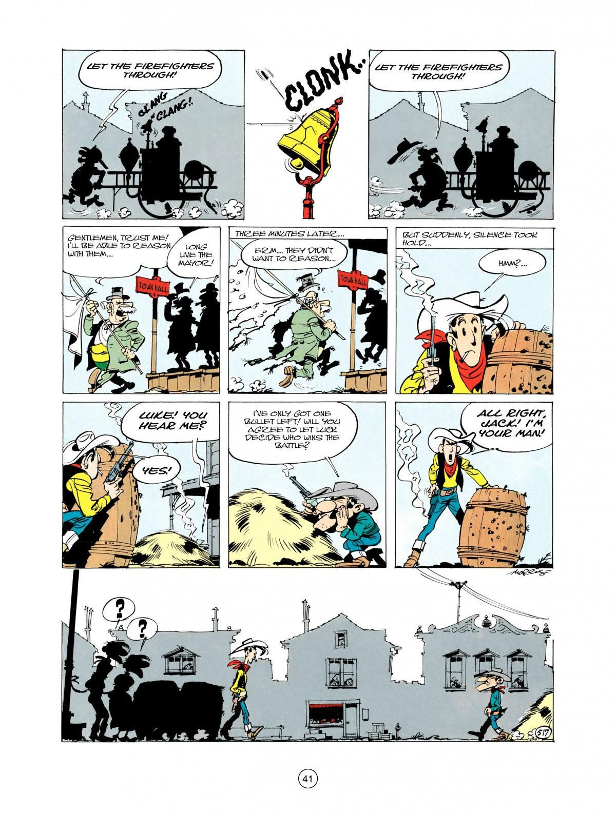 Read online A Lucky Luke Adventure comic -  Issue #28 - 42