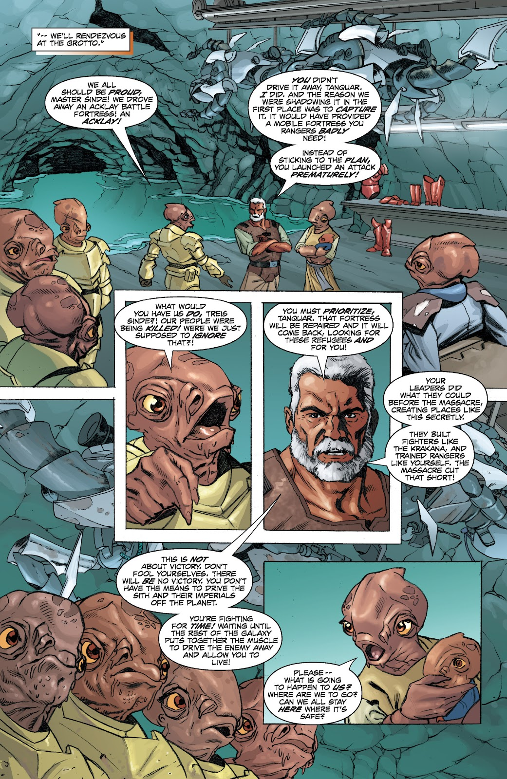 Read online Star Wars Legends: Legacy - Epic Collection comic -  Issue # TPB 2 (Part 4) - 7