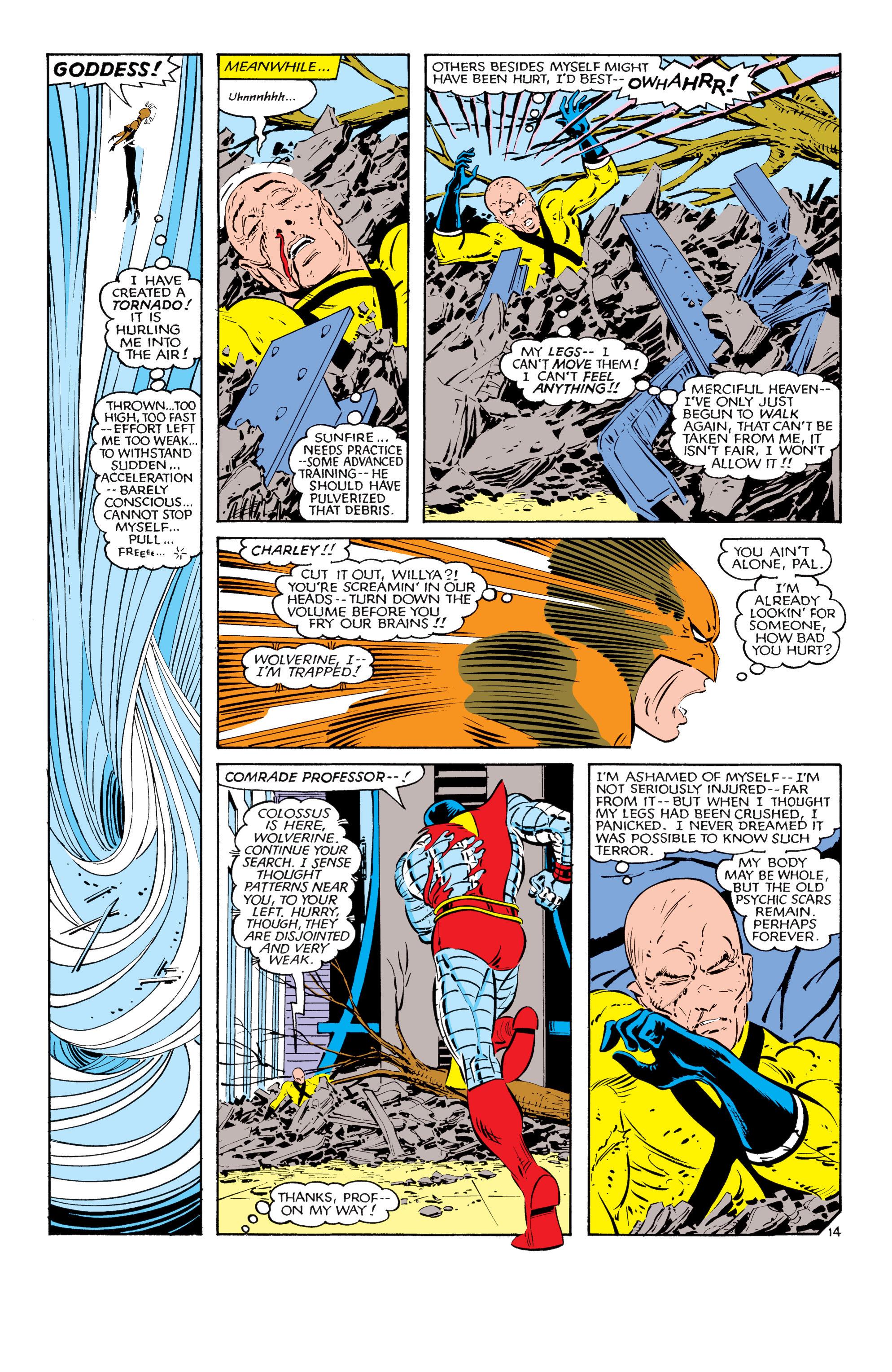 Read online Uncanny X-Men (1963) comic -  Issue #181 - 14