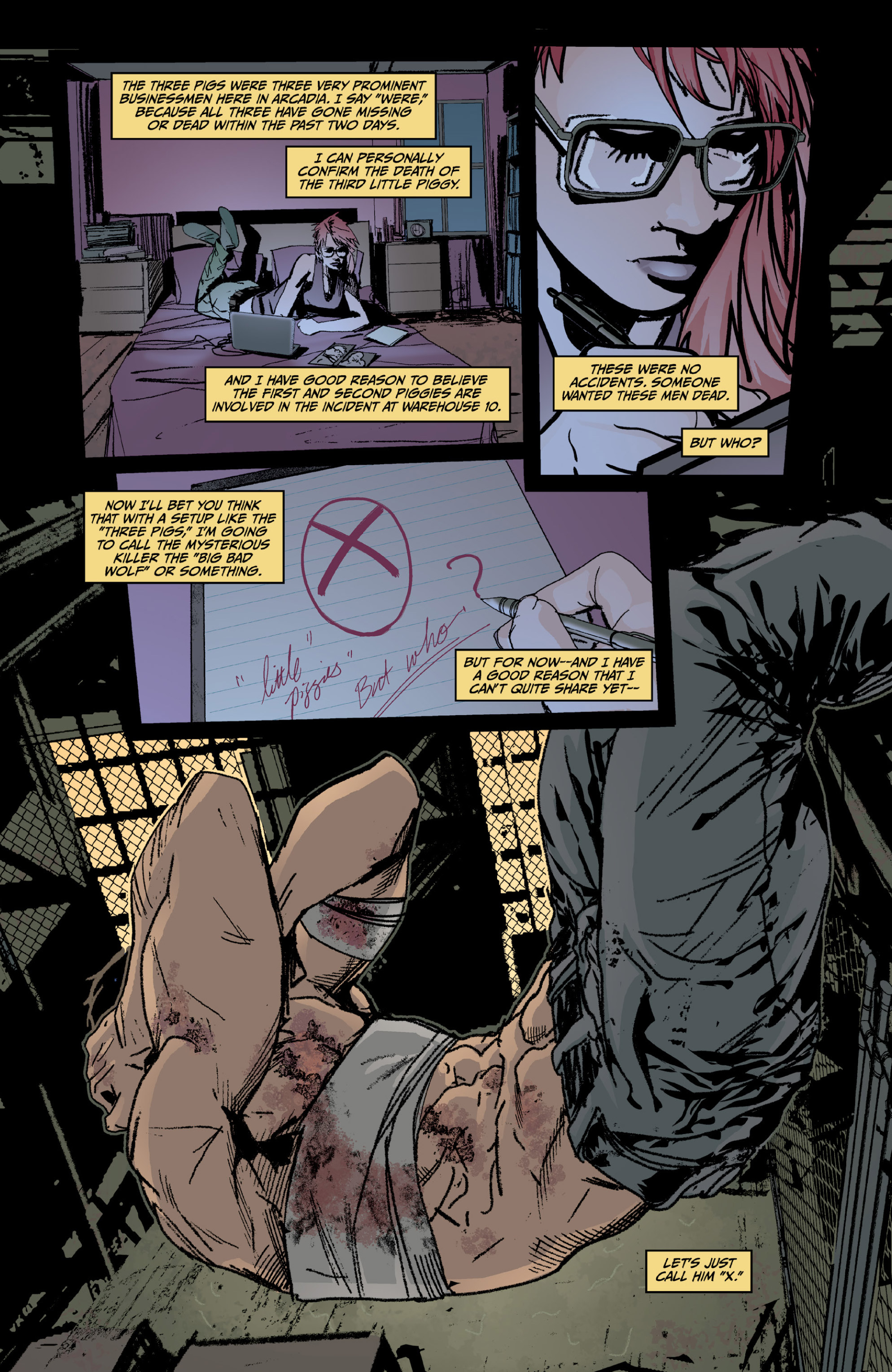 Read online X: Big Bad comic -  Issue # Full - 44