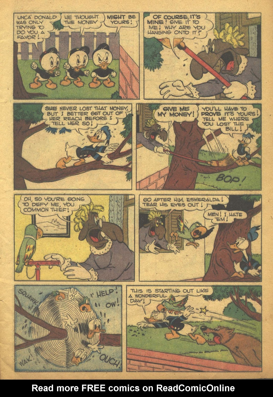 Walt Disney's Comics and Stories issue 63 - Page 7